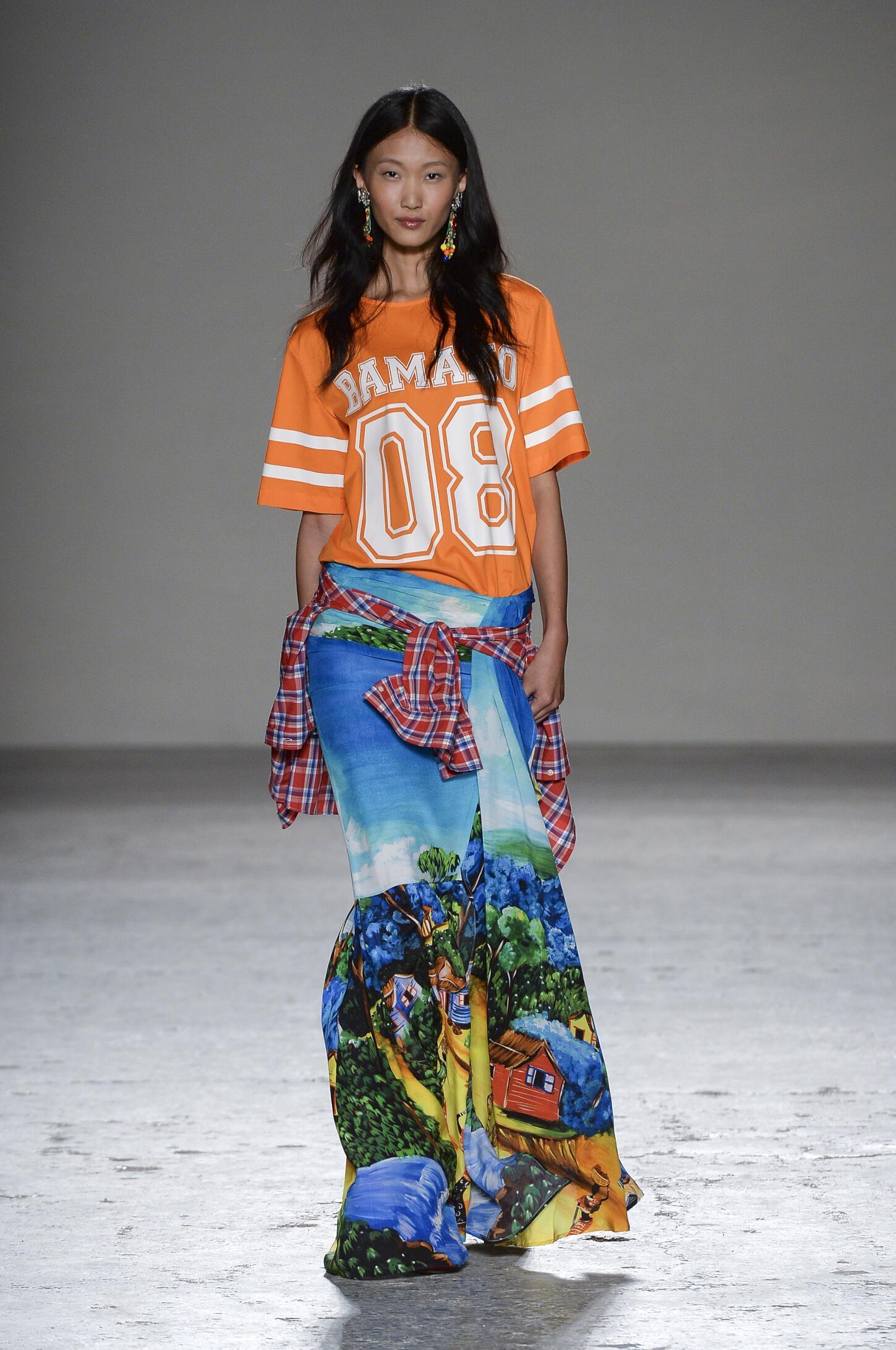 Stella Jean Woman Milan Fashion Week