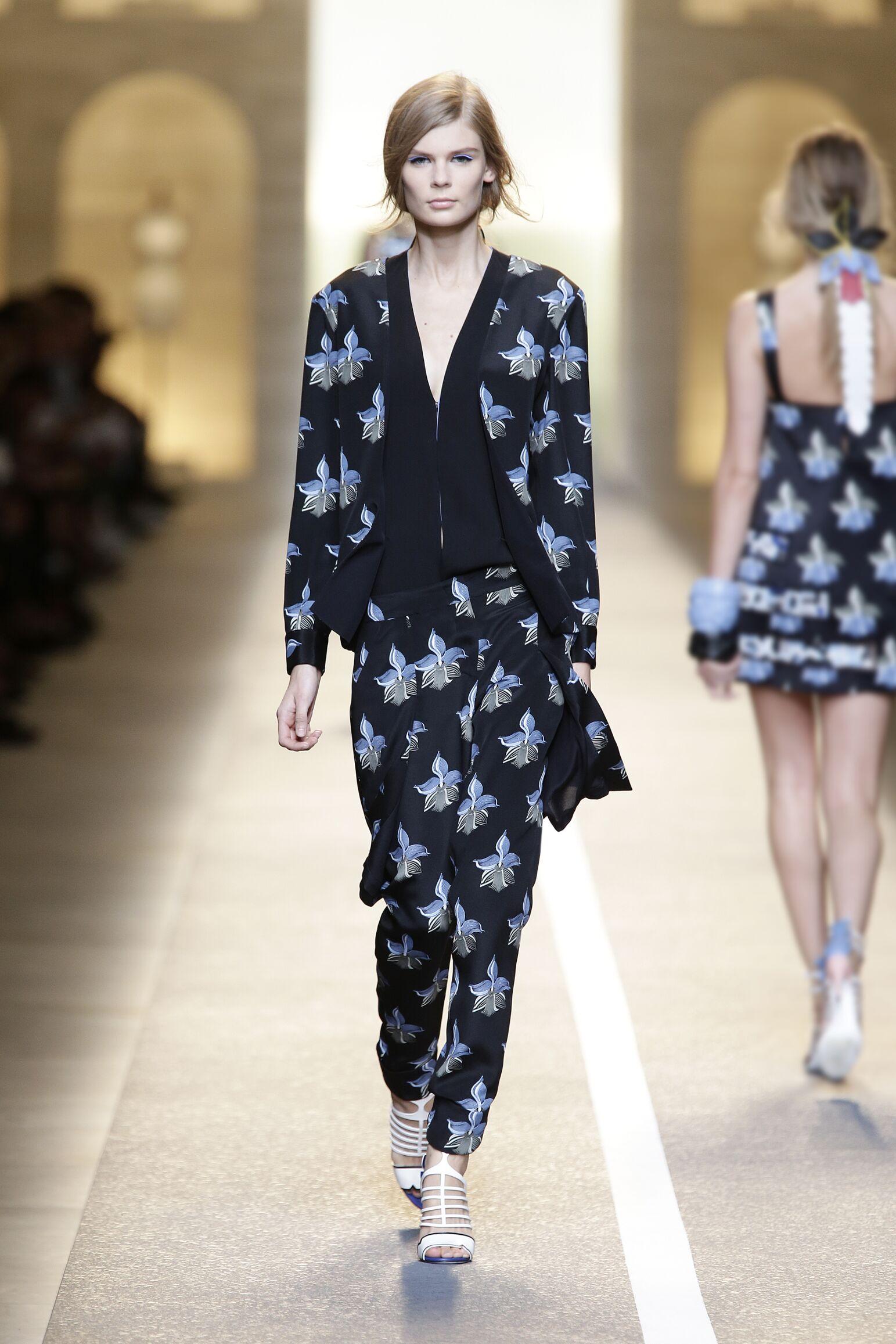 Summer 2015 Fashion Show Fendi Womenswear