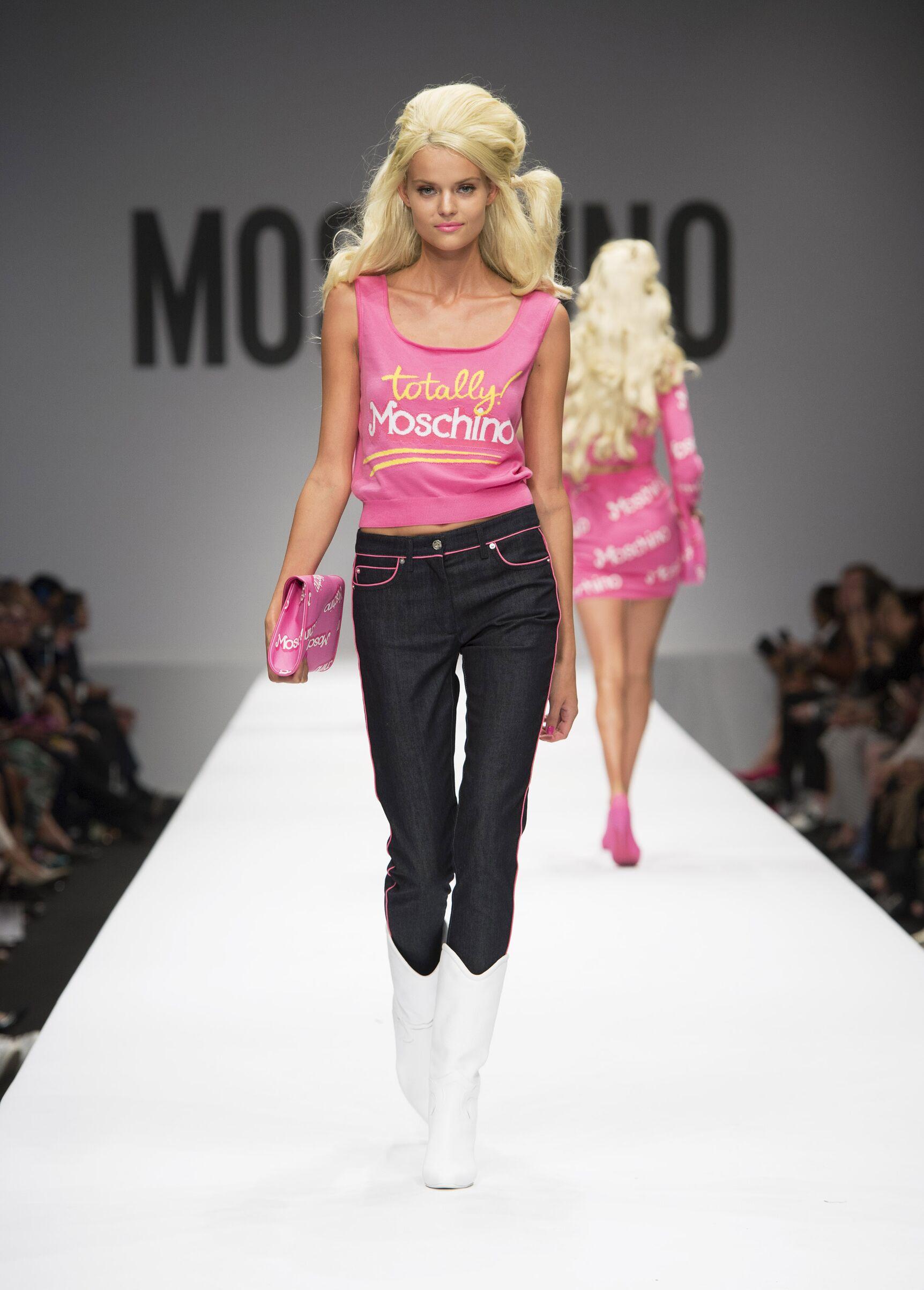 Summer 2015 Fashion Show Moschino Barbie by Jeremy Scott