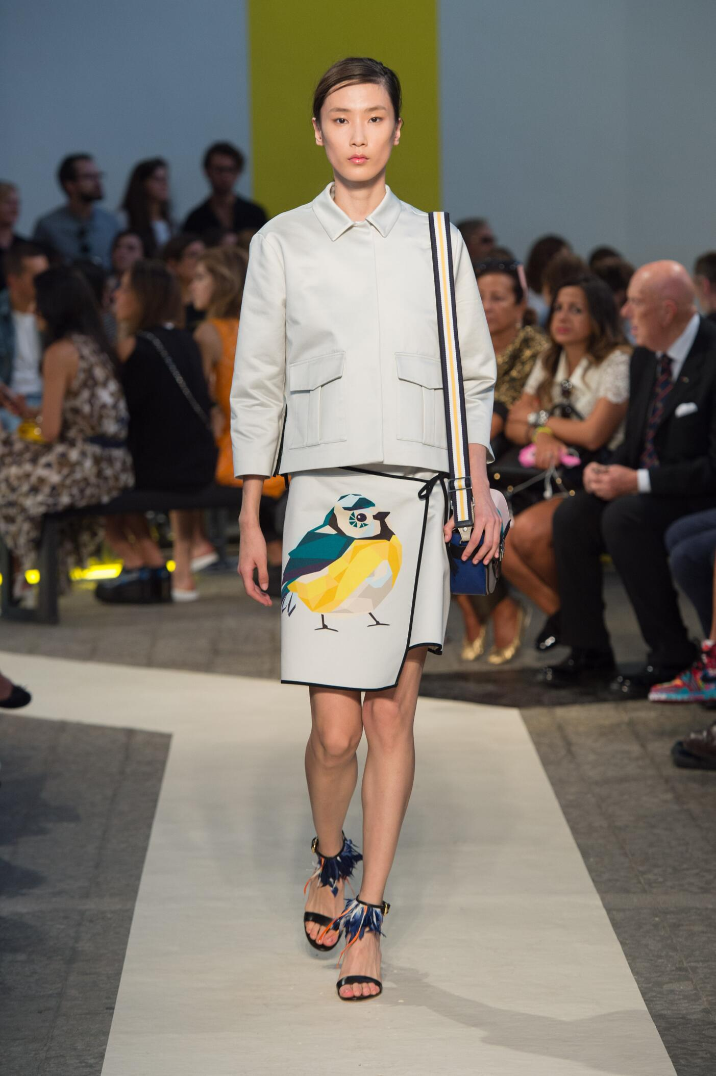 Summer 2015 Fashion Show Msgm