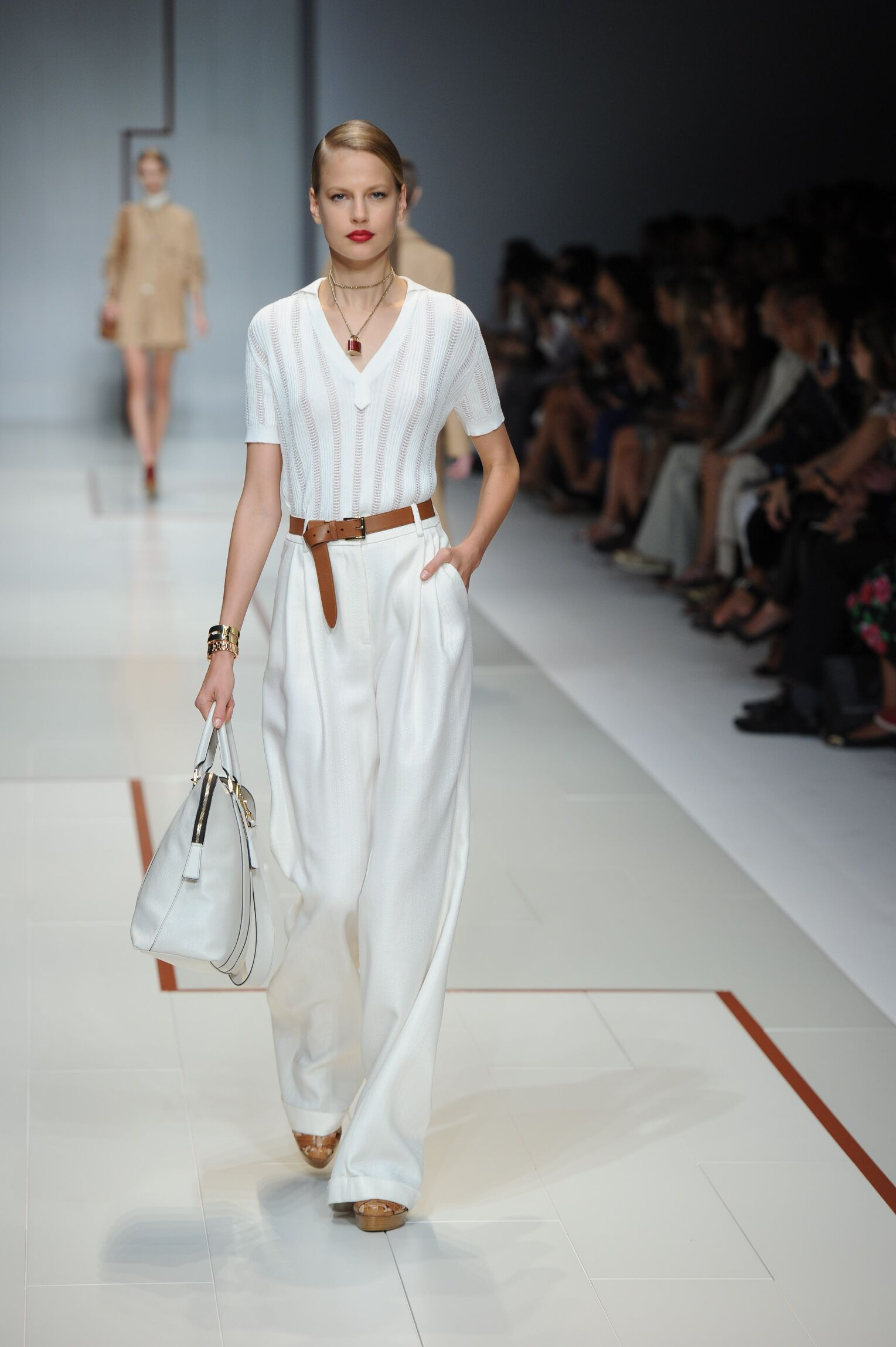Summer 2015 Fashion Show Trussardi