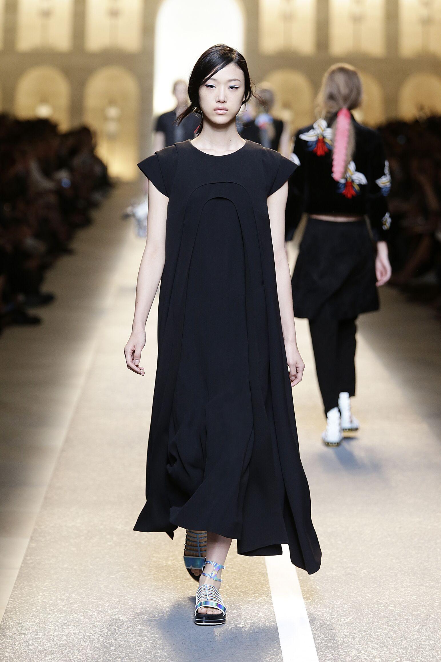Summer 2015 Fashion Trends Womenswear Fendi