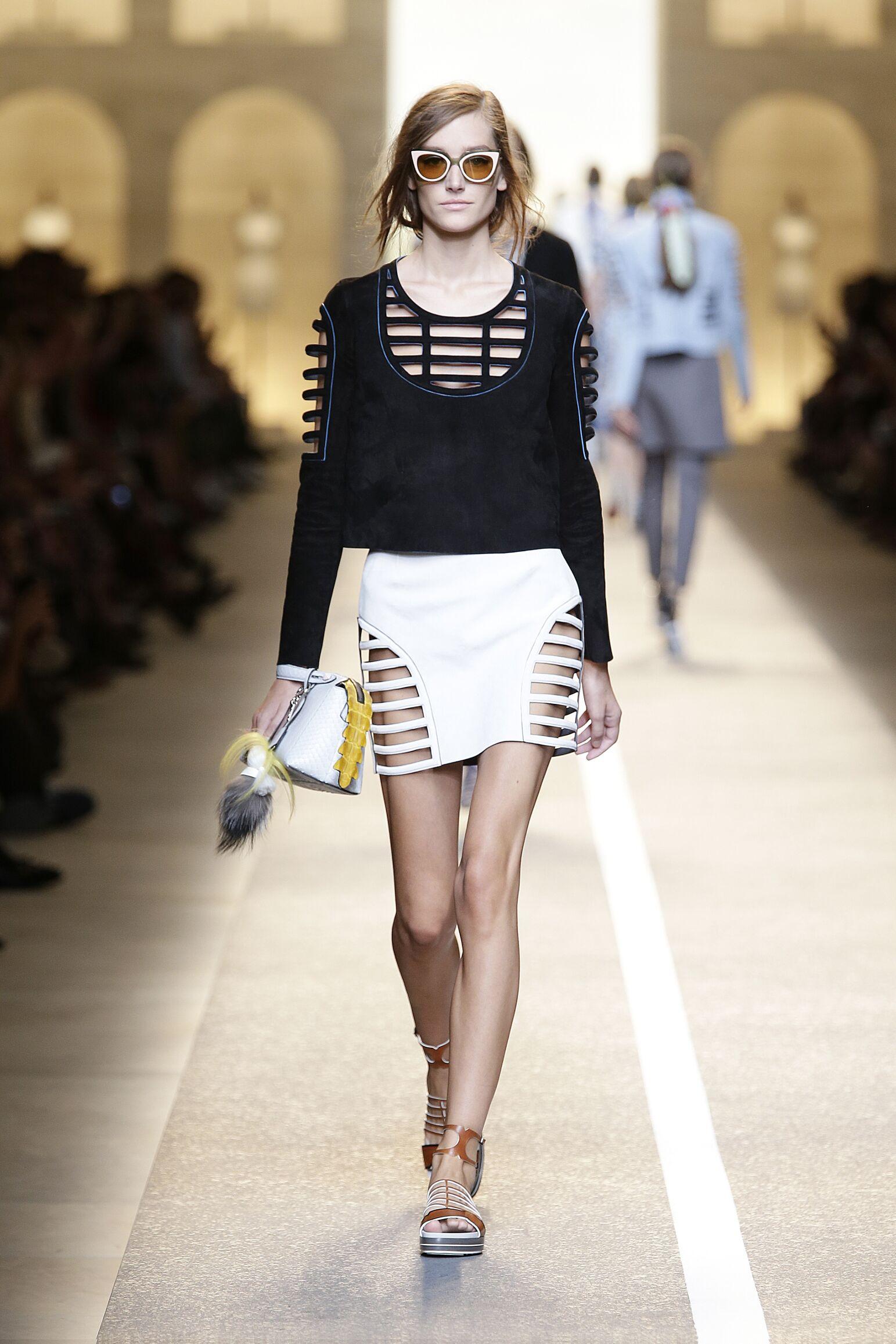 Summer 2015 Woman Milan Fendi Collection