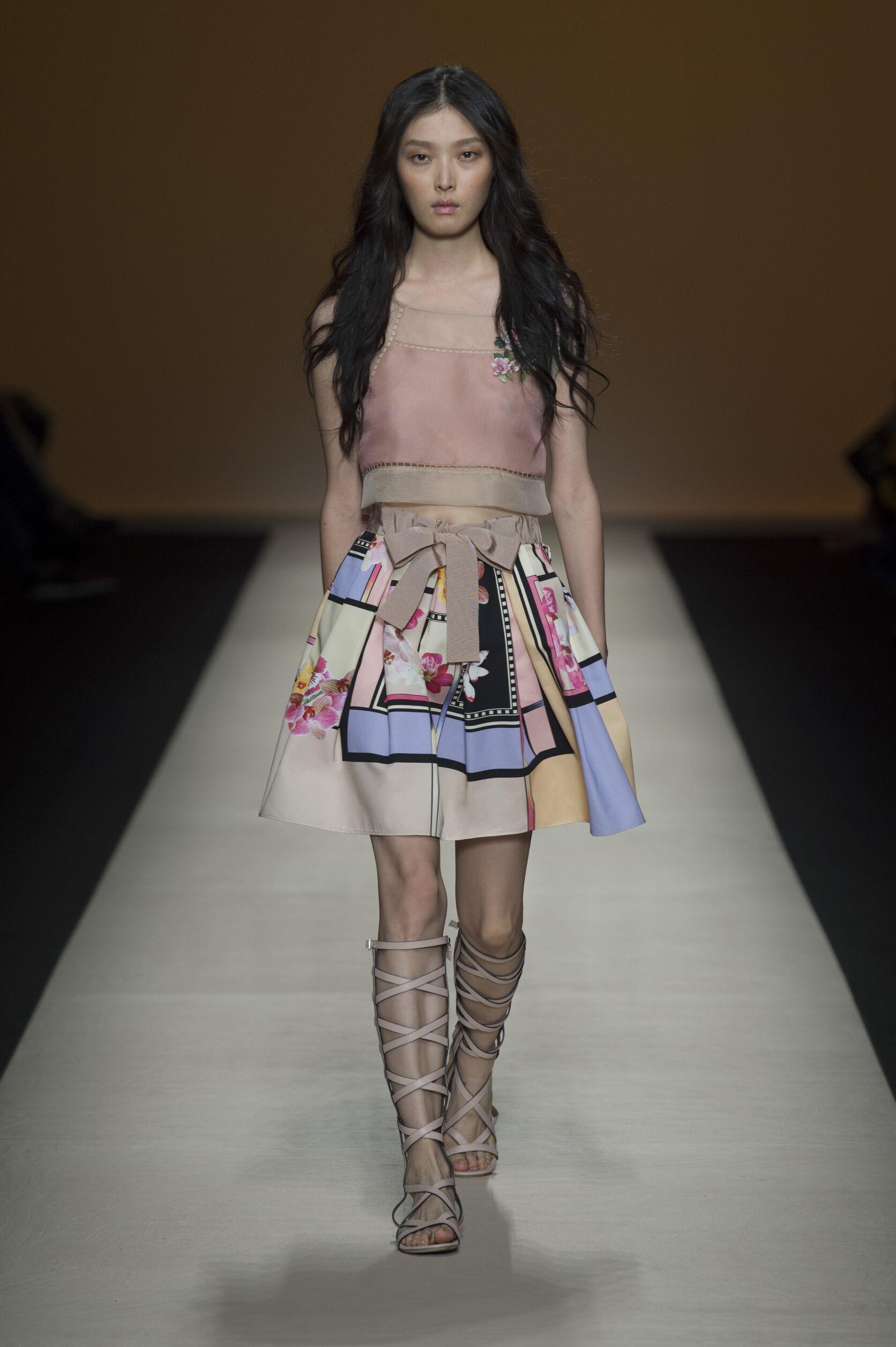 Summer Fashion Trends 2015 Alberta Ferretti