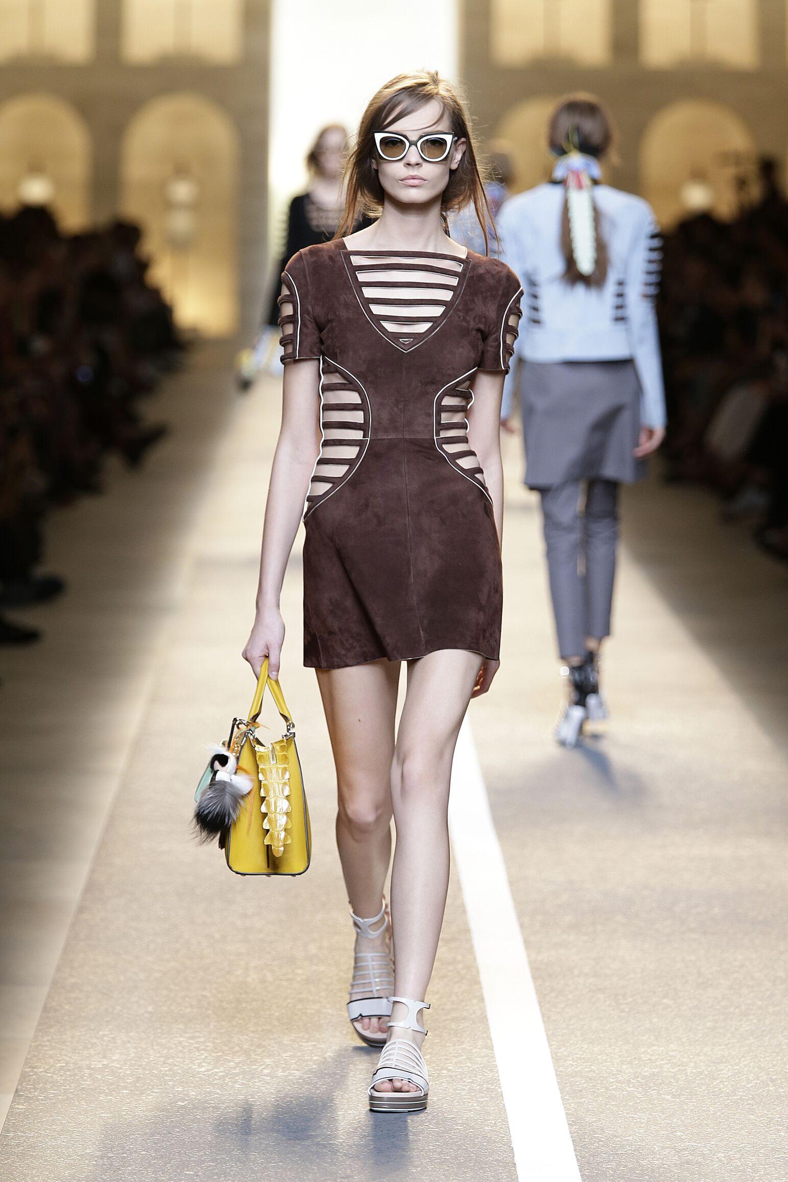 Summer Womenswear Fashion 2015 Fendi
