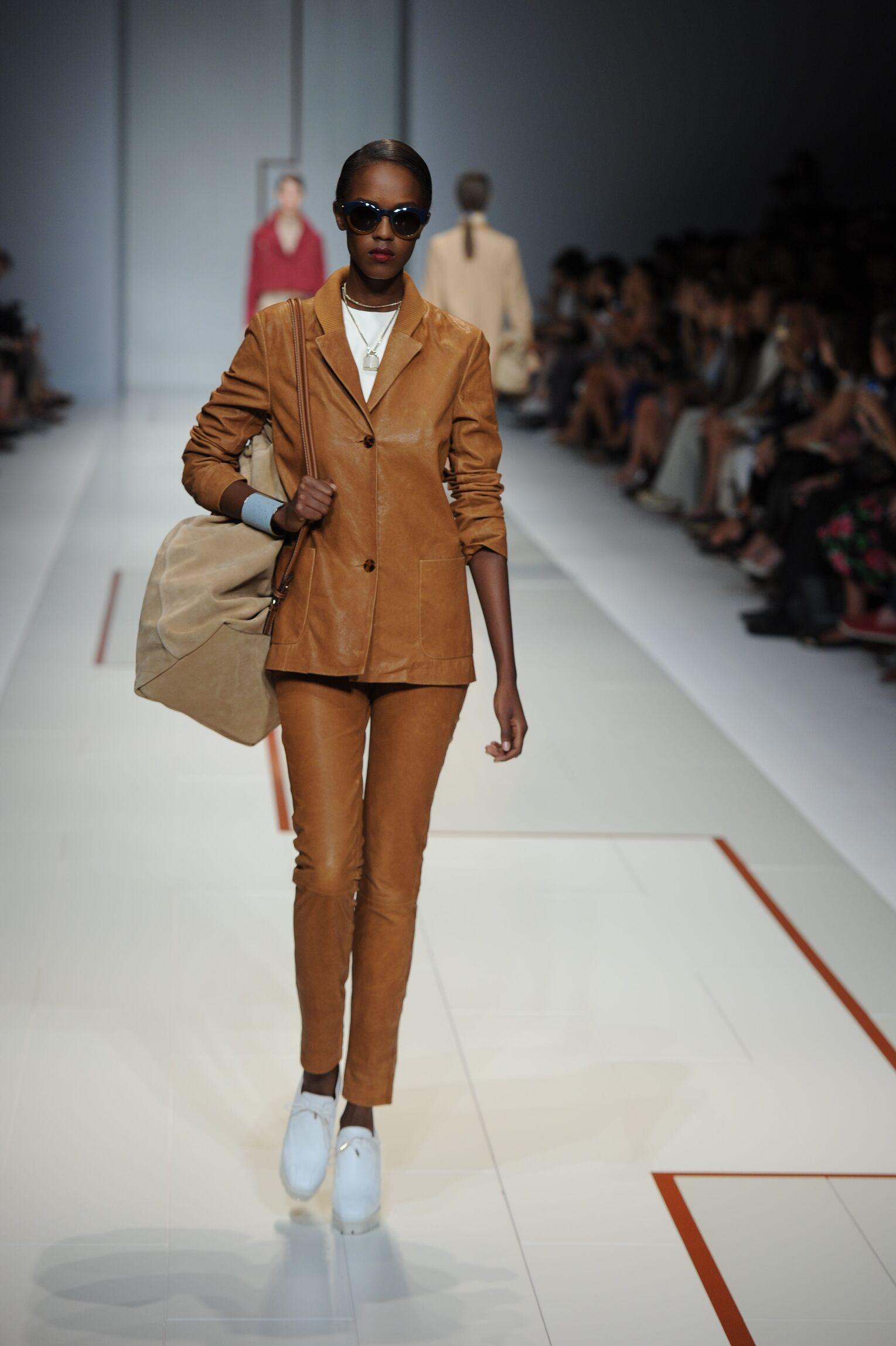 Trussardi Spring Summer 2015 Womens Collection Milan Fashion Week