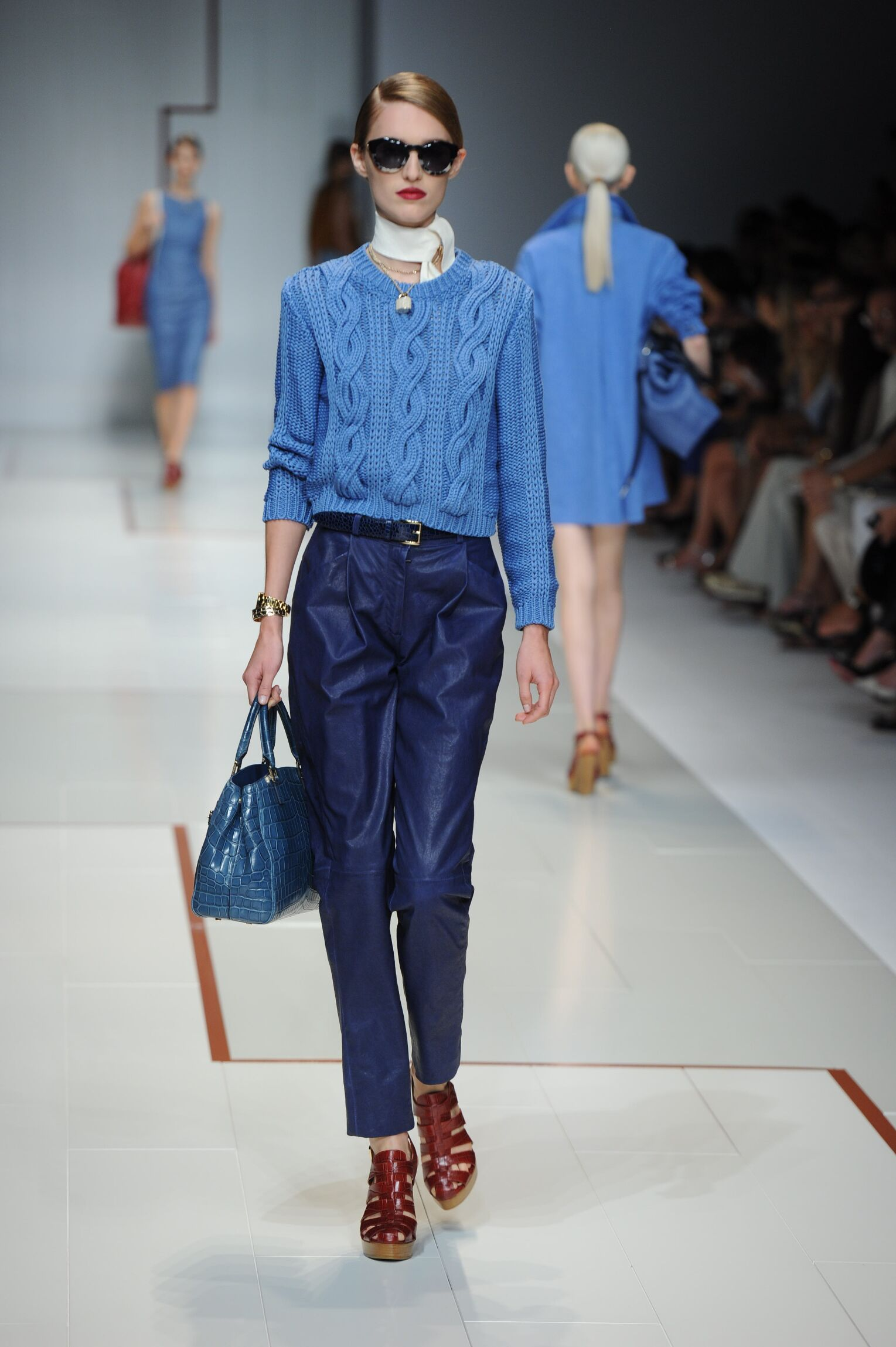 Trussardi Summer 2015 Catwalk