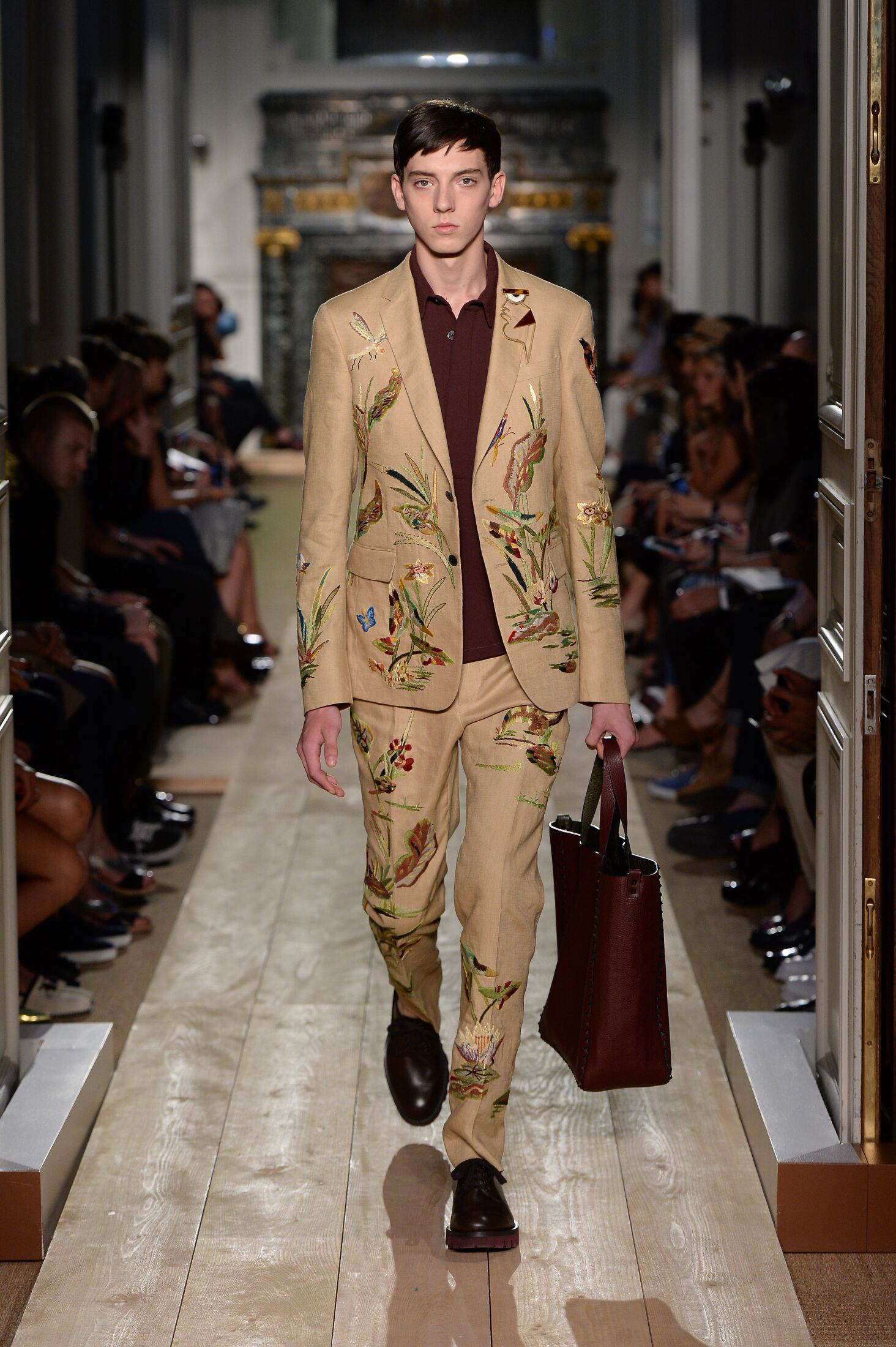 Valentino Spring Summer 2015 Mens Collection Paris Fashion Week