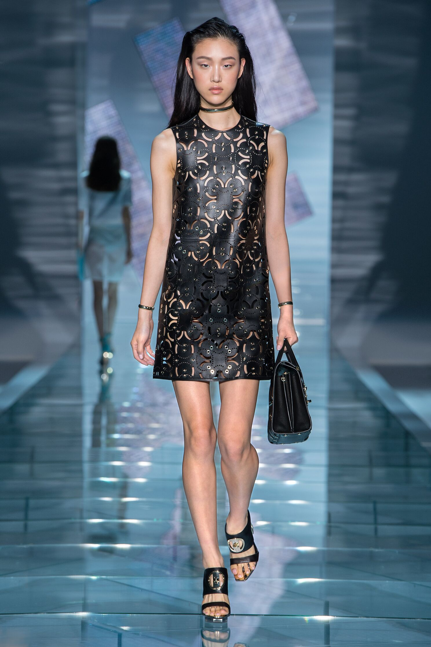 versace spring summer 2015 women�s collection the skinny
