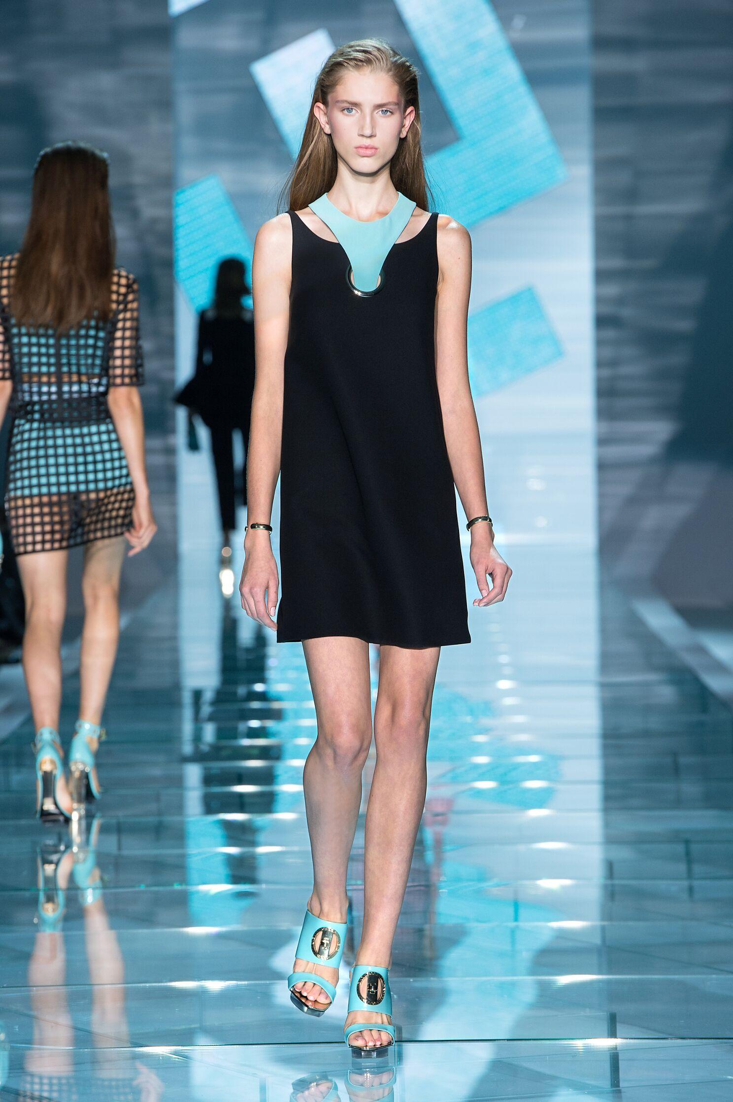 Versace Spring Summer 2015 Womens Collection Milan Fashion Week