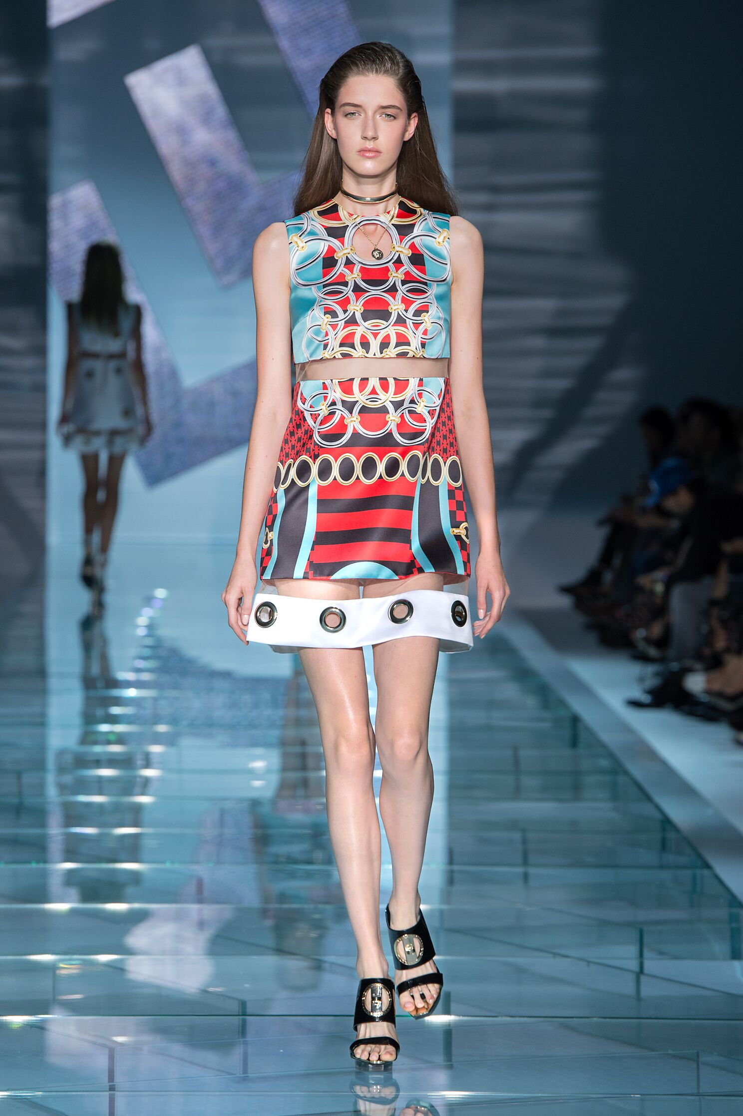 Versace Summer 2015 Catwalk