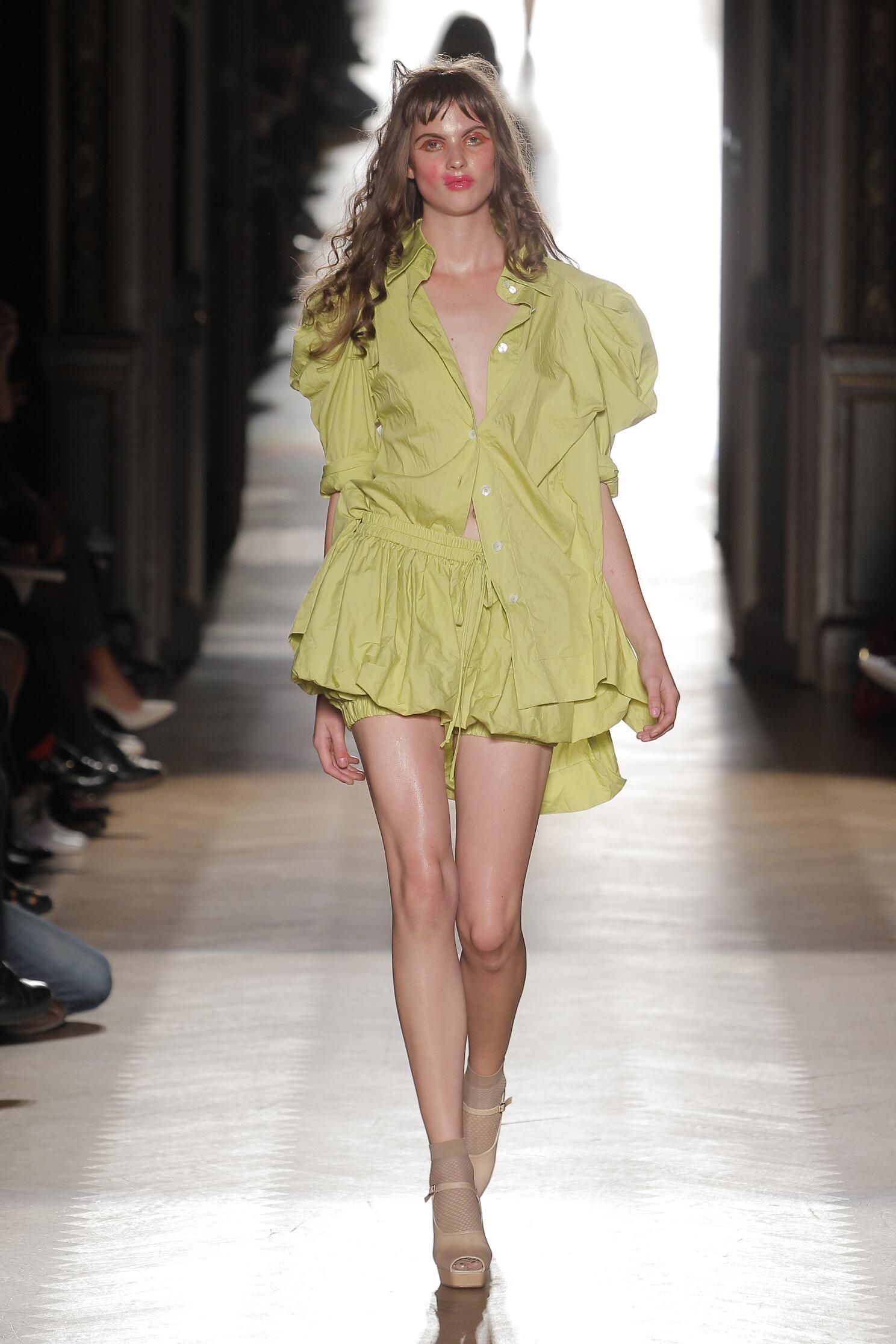 Vivienne Westwood Gold Label Paris Fashion Week Womenswear