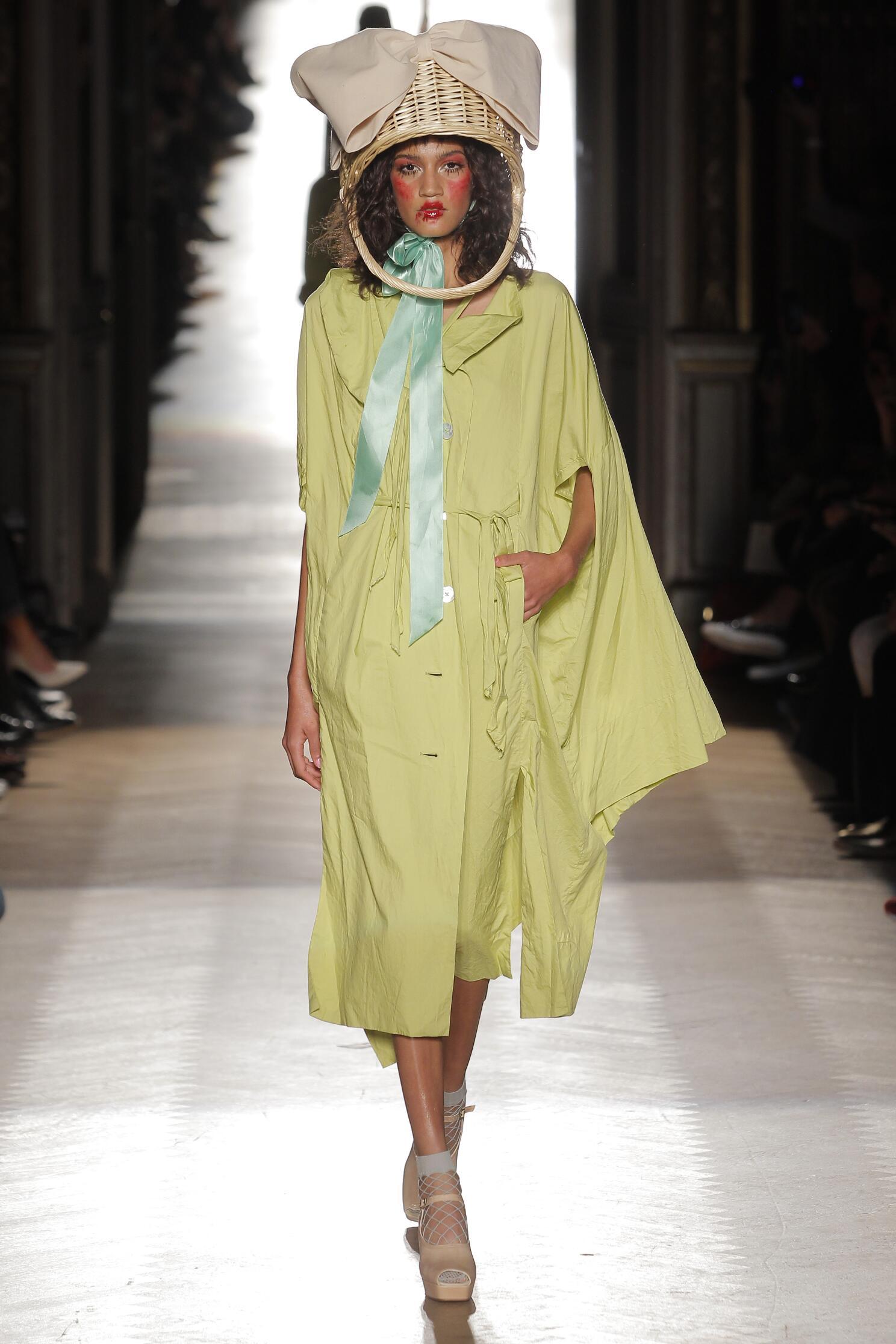 Vivienne Westwood Gold Label Paris Fashion Week