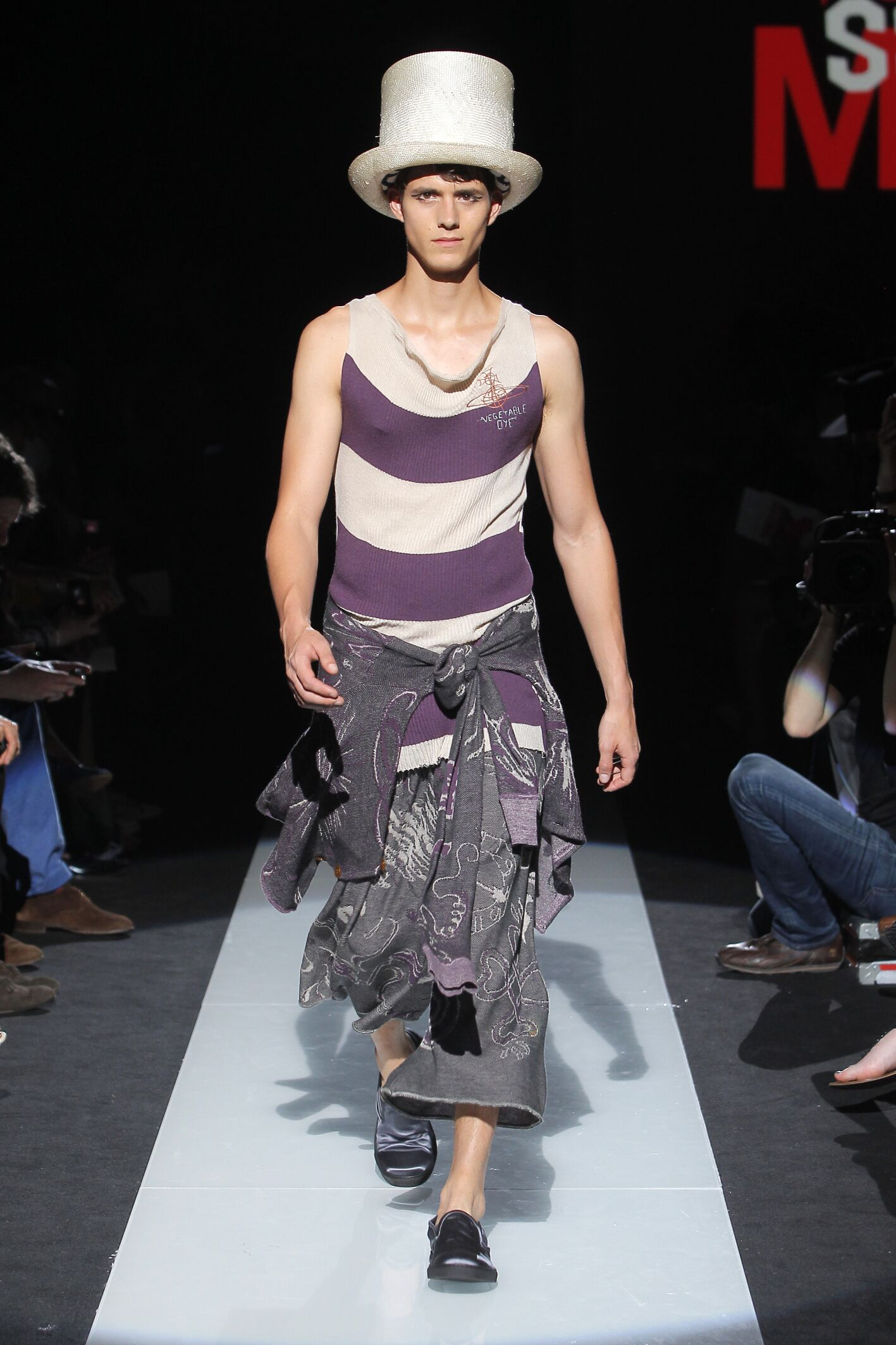 Vivienne Westwood Milan Fashion Week Menswear