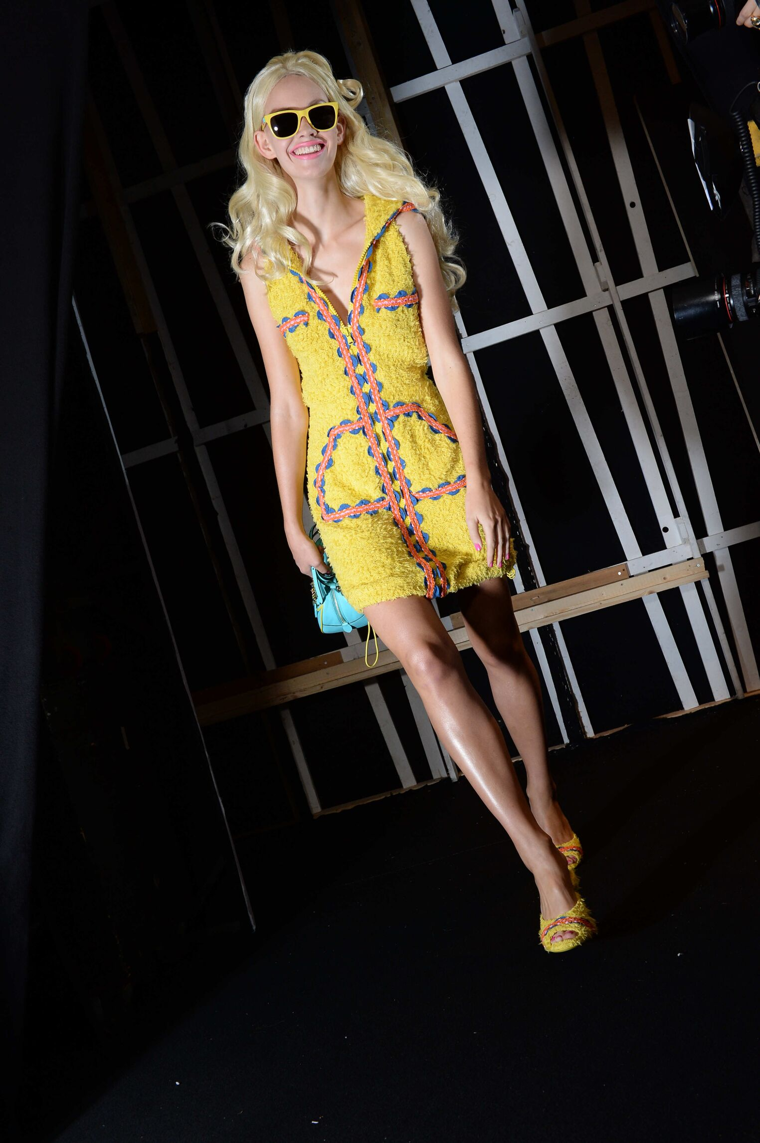 Woman Trends 2014 Backstage Moschino Milan