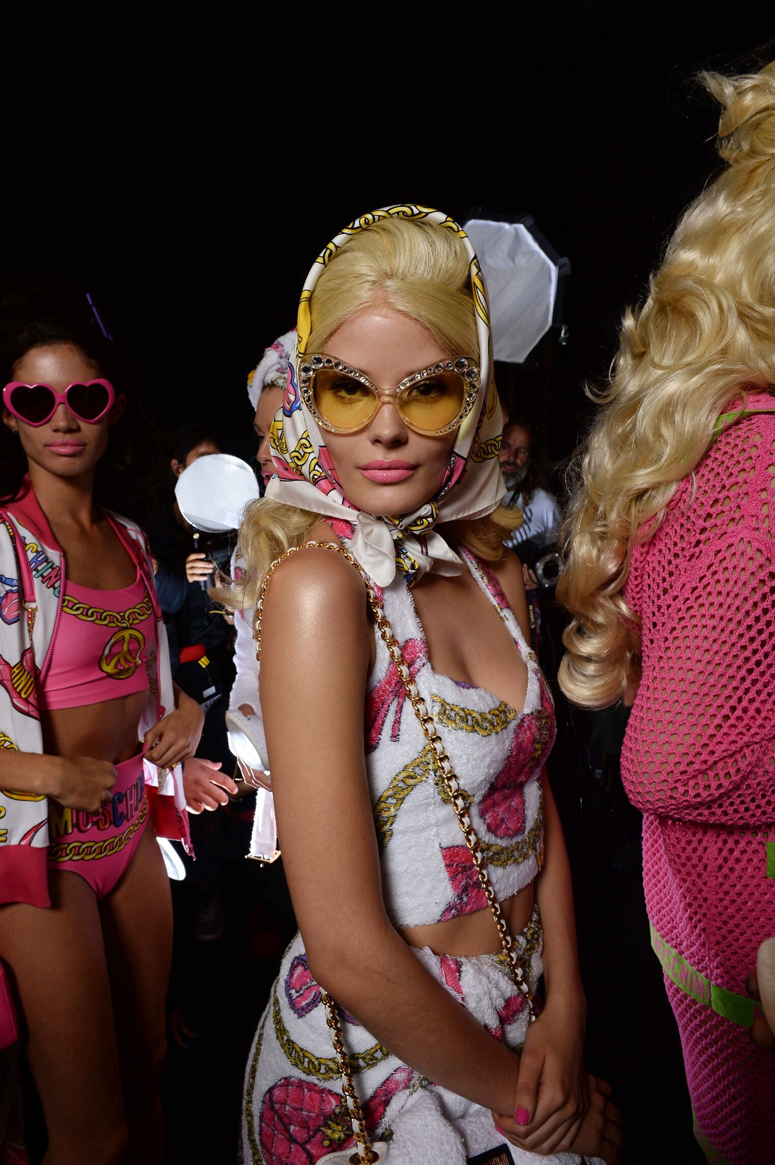 Woman Trends 2014 Backstage Moschino