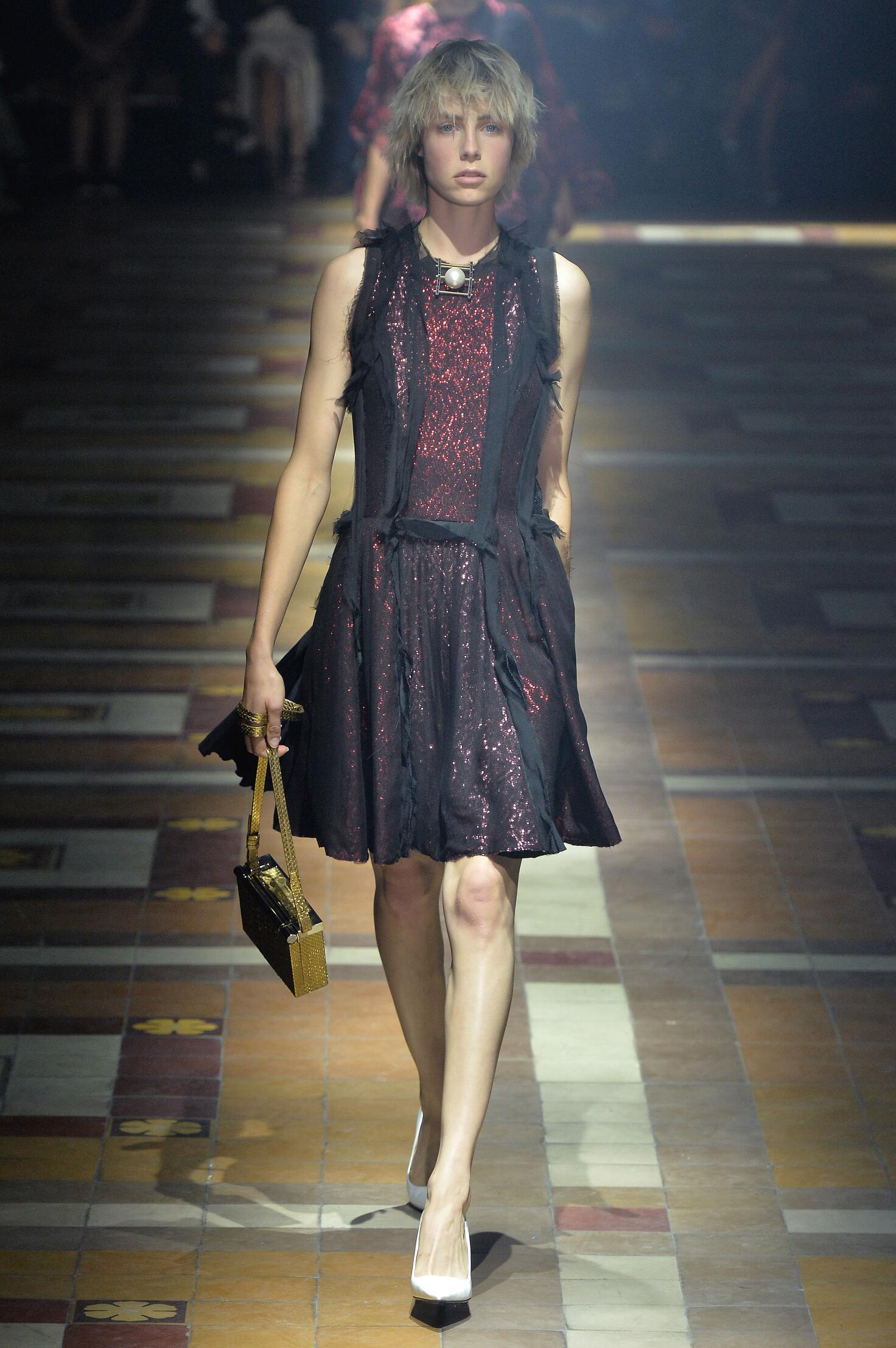 Womenswear Paris Spring Summer Lanvin 2015