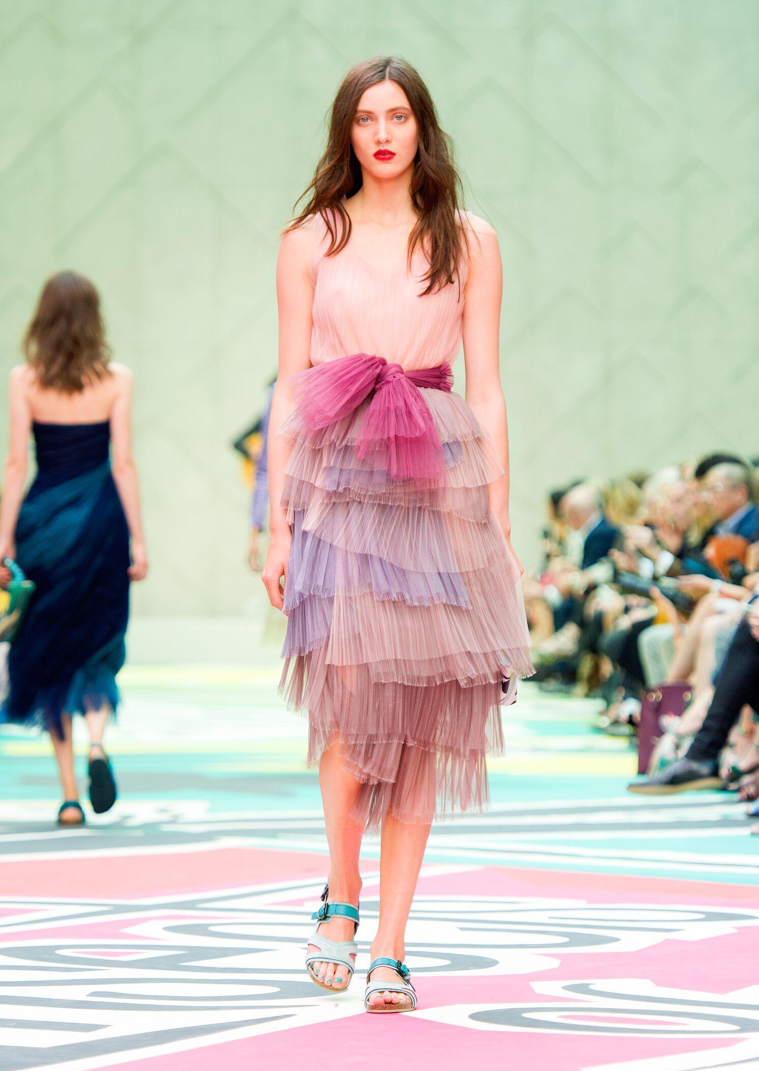 Womenswear Spring Summer Burberry Prorsum 2015