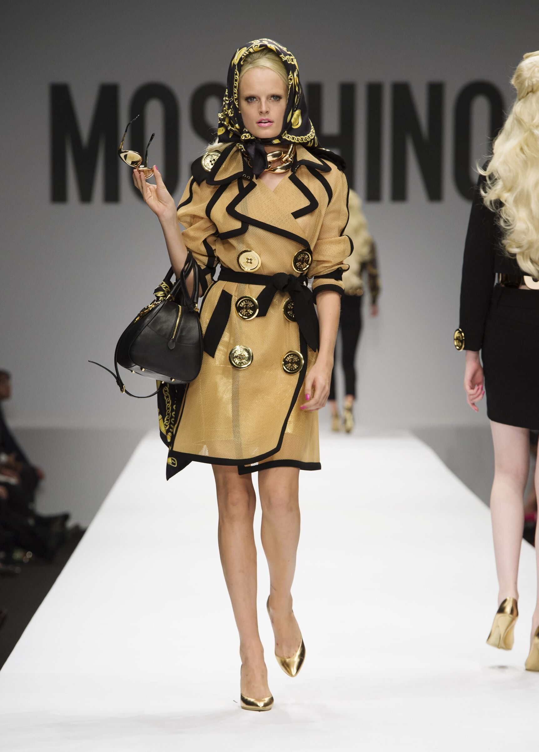Womenswear Spring Summer Moschino 2015