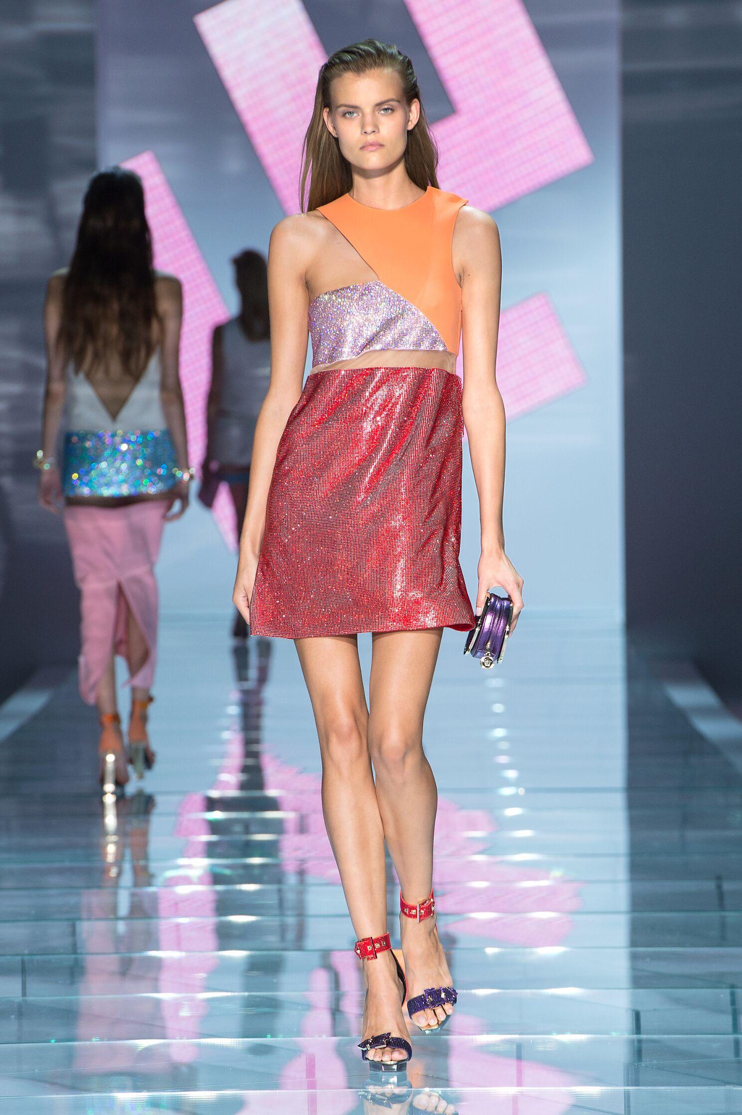 Womenswear Spring Summer Versace 2015