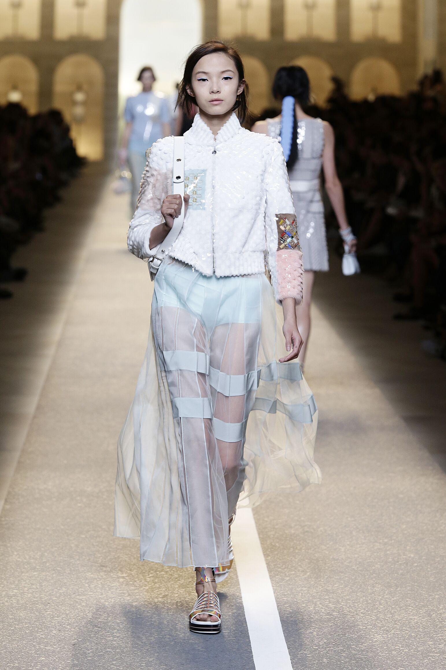 Womenswear Summer Fendi 2015