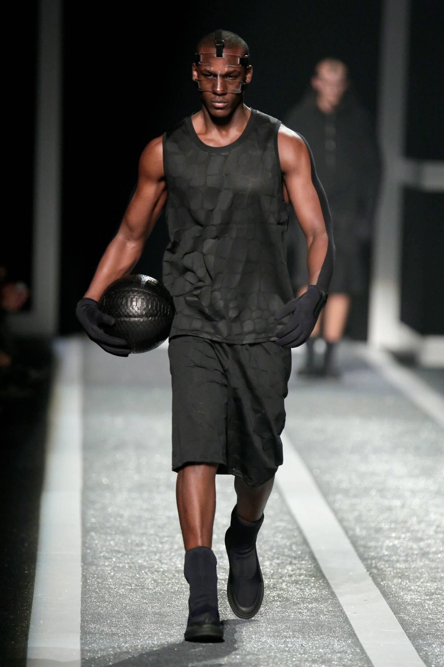 2015 Alexander Wang for H&M Man Model
