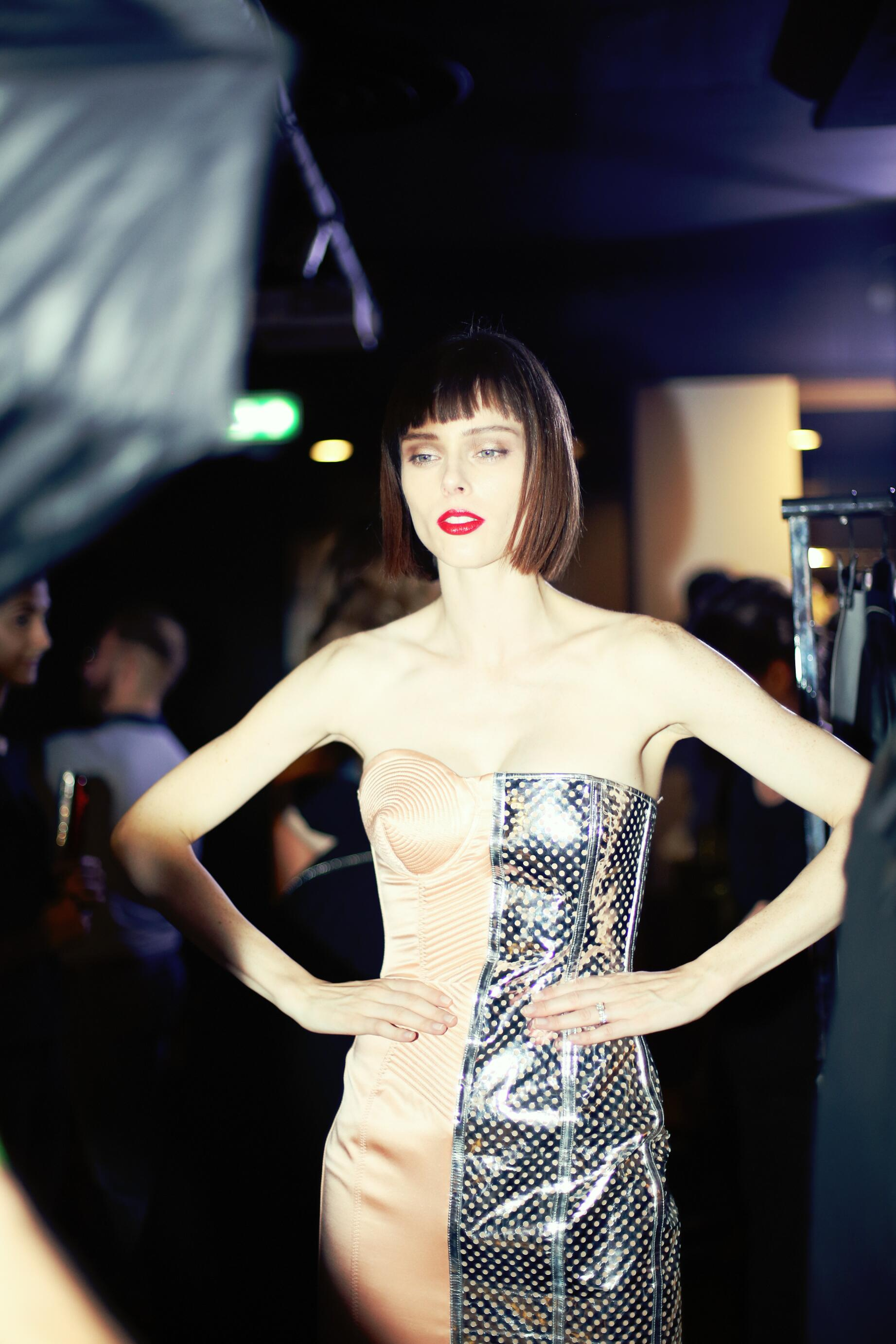 2015 Backstage Jean Paul Gaultier Woman