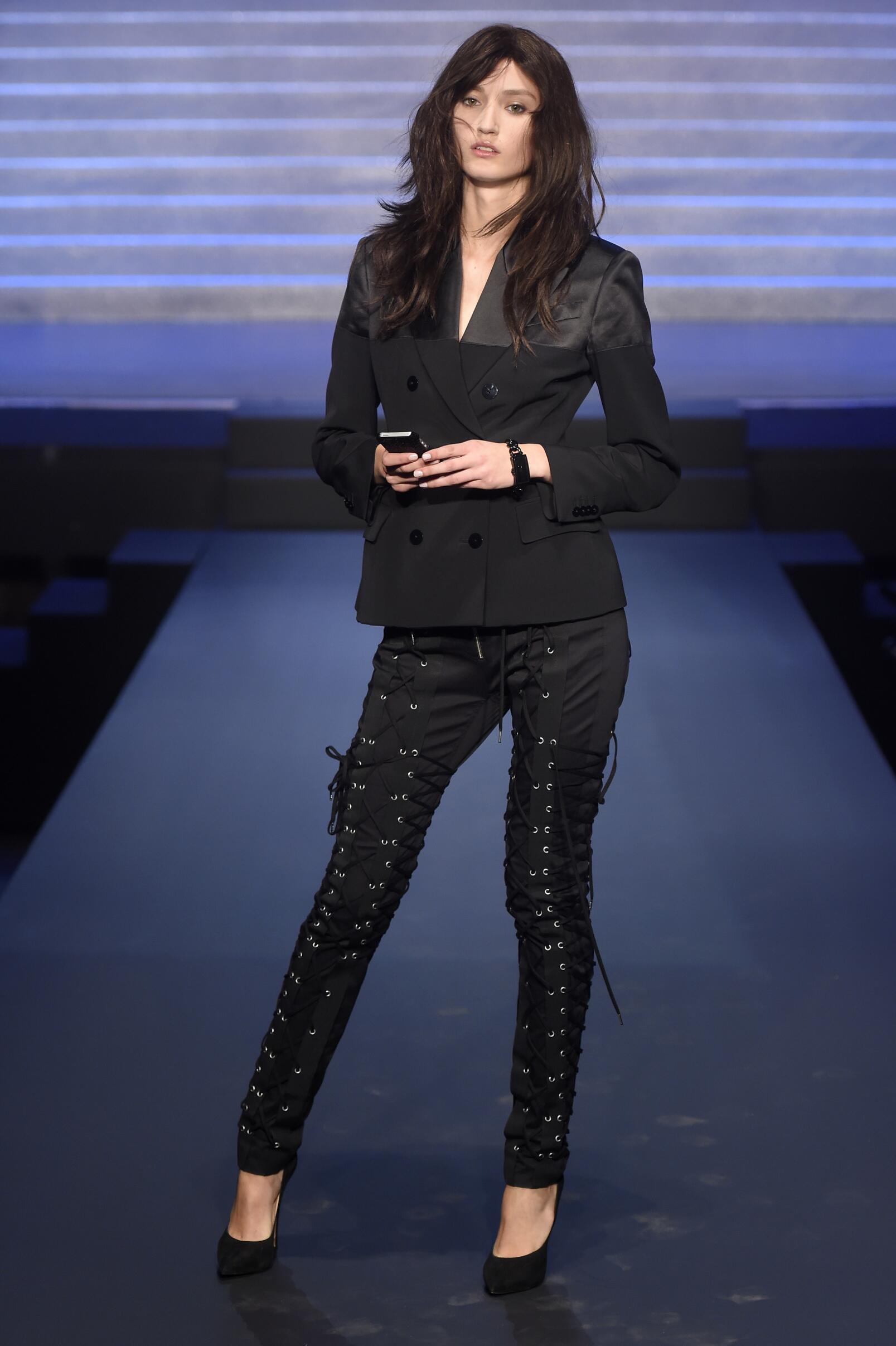 2015 Catwalk Jean Paul Gaultier Woman Fashion Show Summer