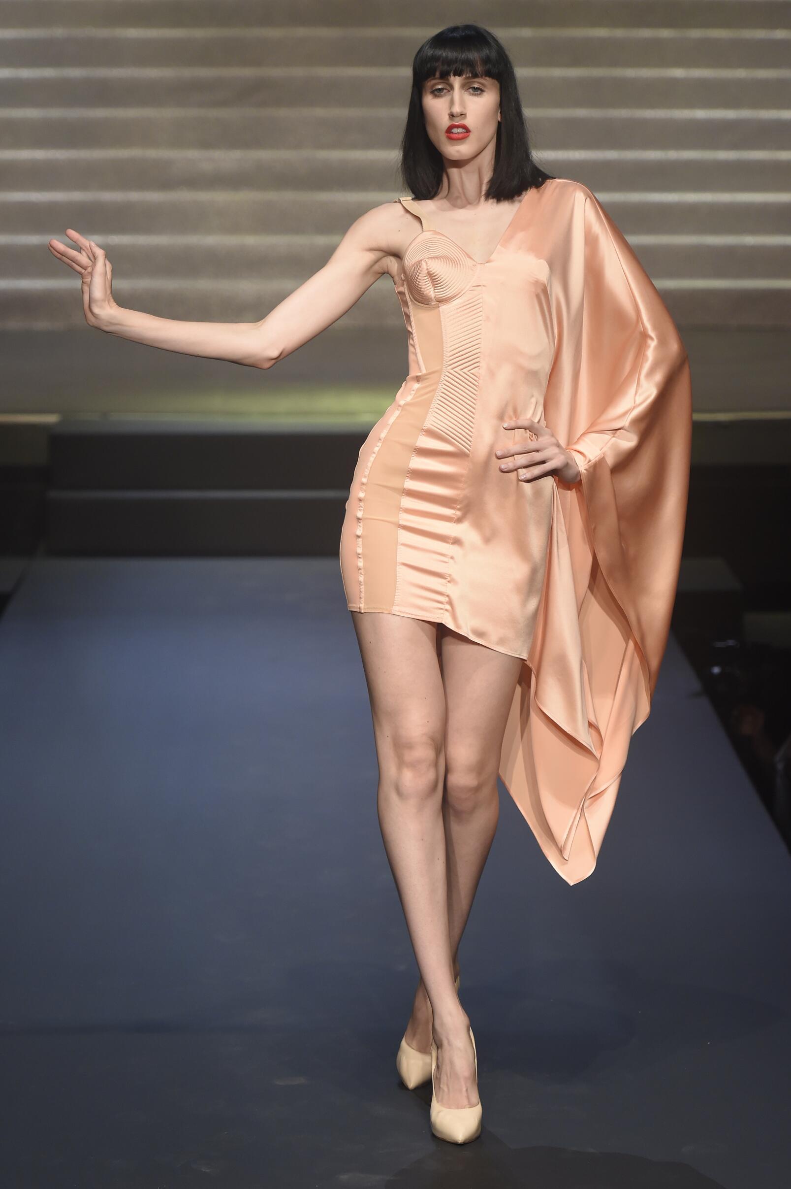 2015 Catwalk Jean Paul Gaultier Womenswear Paris