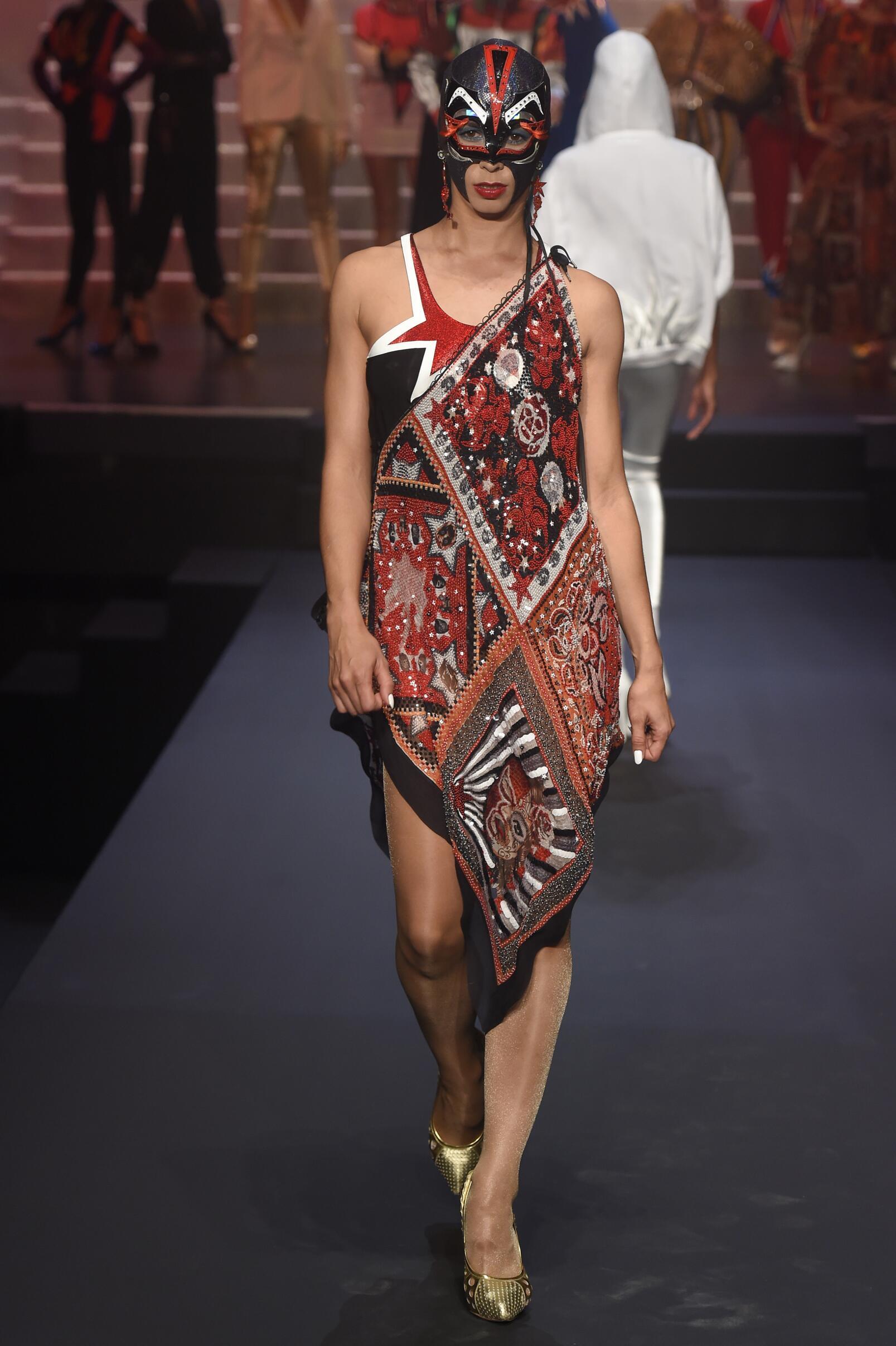 2015 Jean Paul Gaultier Catwalk Womenswear Paris