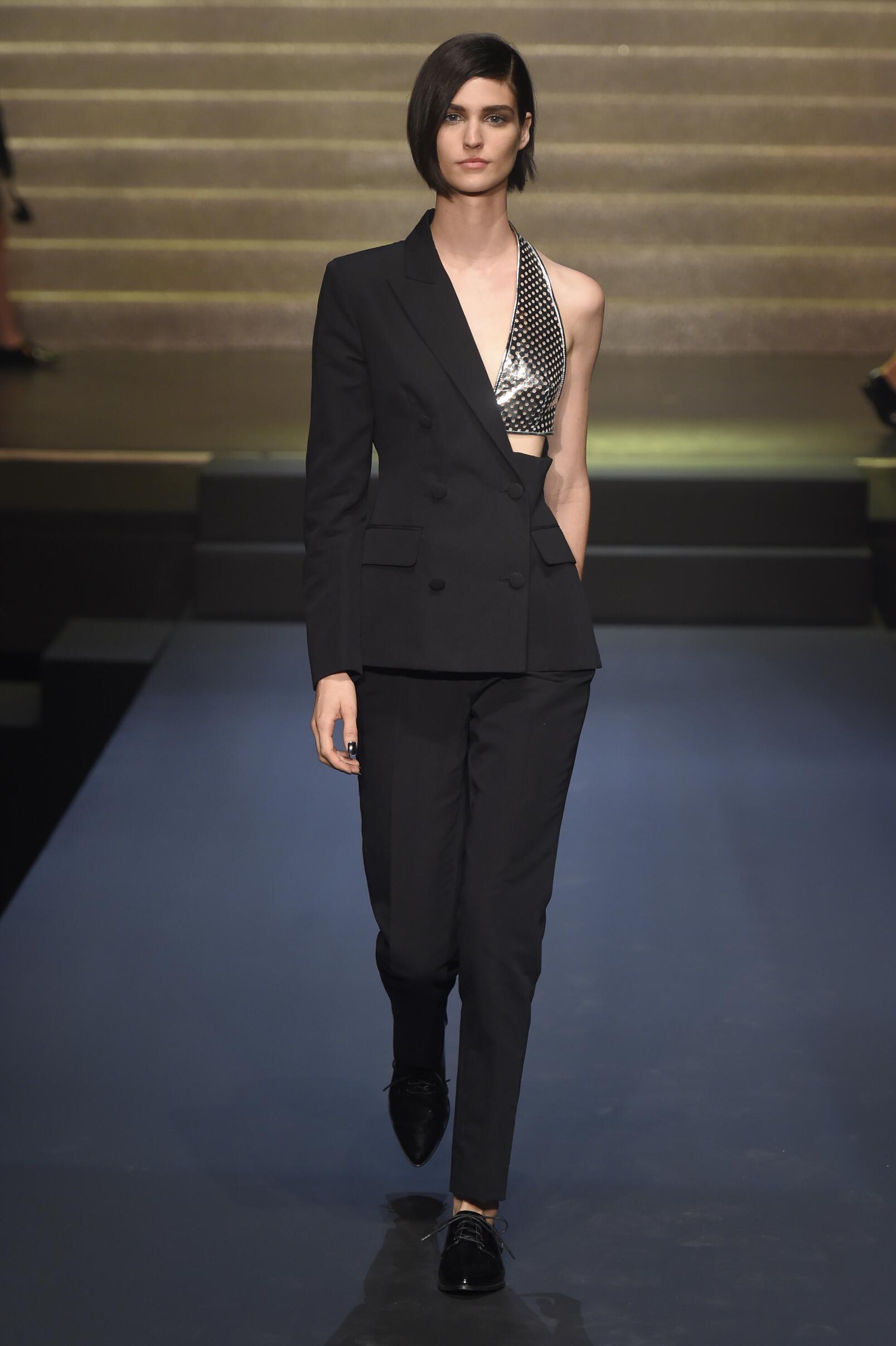 2015 Jean Paul Gaultier Spring Catwalk Womenswear Paris
