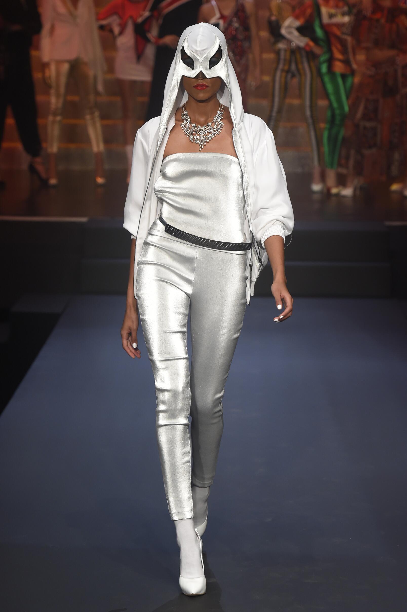 2015 Jean Paul Gaultier Summer Catwalk Womenswear