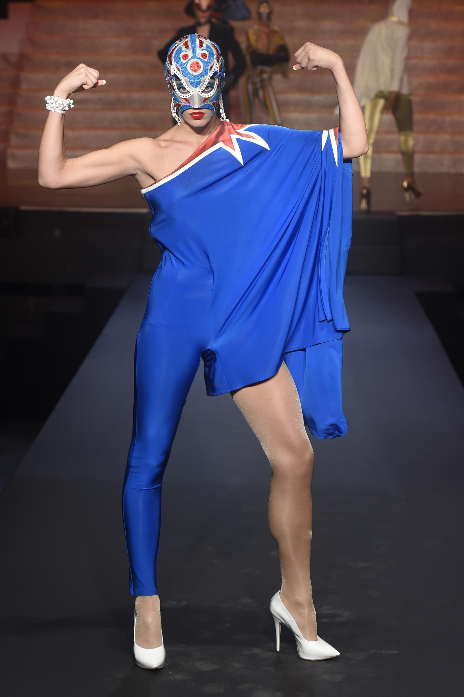 2015 Jean Paul Gaultier Summer Runway Womenswear Paris