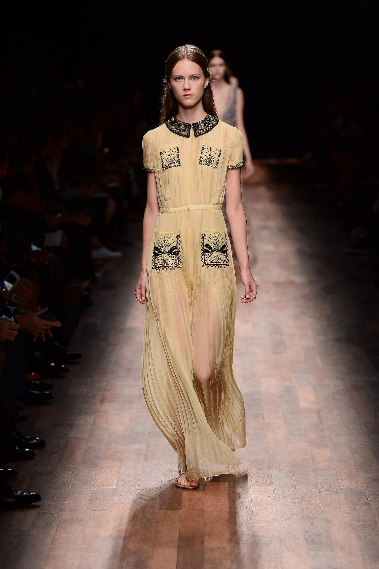 2015 Valentino Spring Summer Paris
