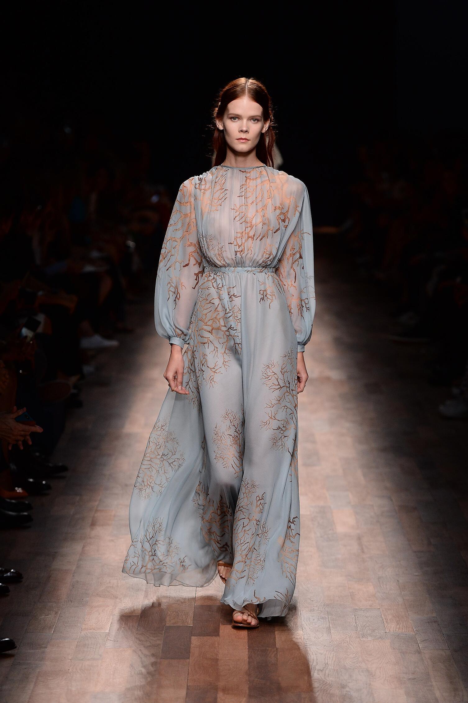 2015 Valentino Summer Catwalk Womenswear
