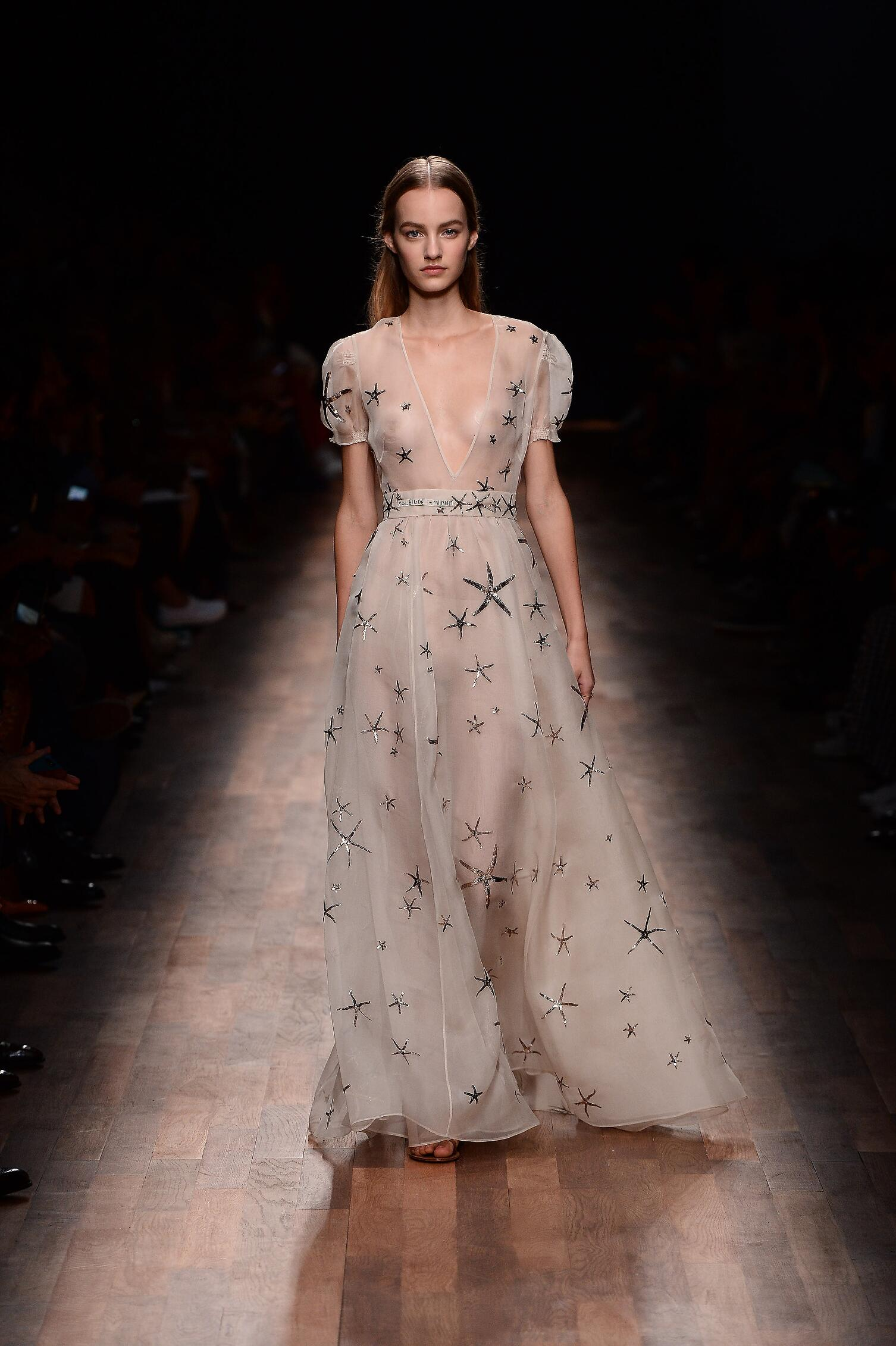 2015 Valentino Summer Runway Womenswear Paris