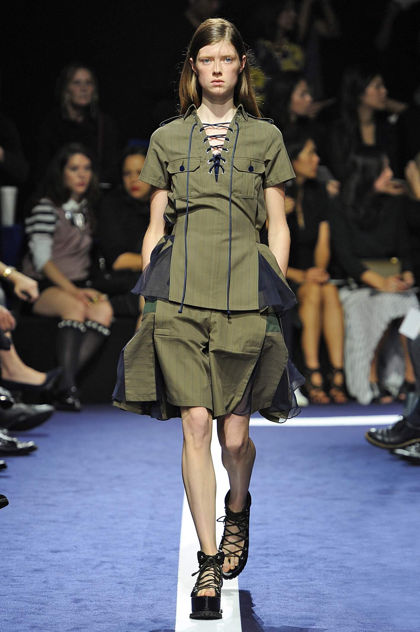 2015 Woman Style Sacai