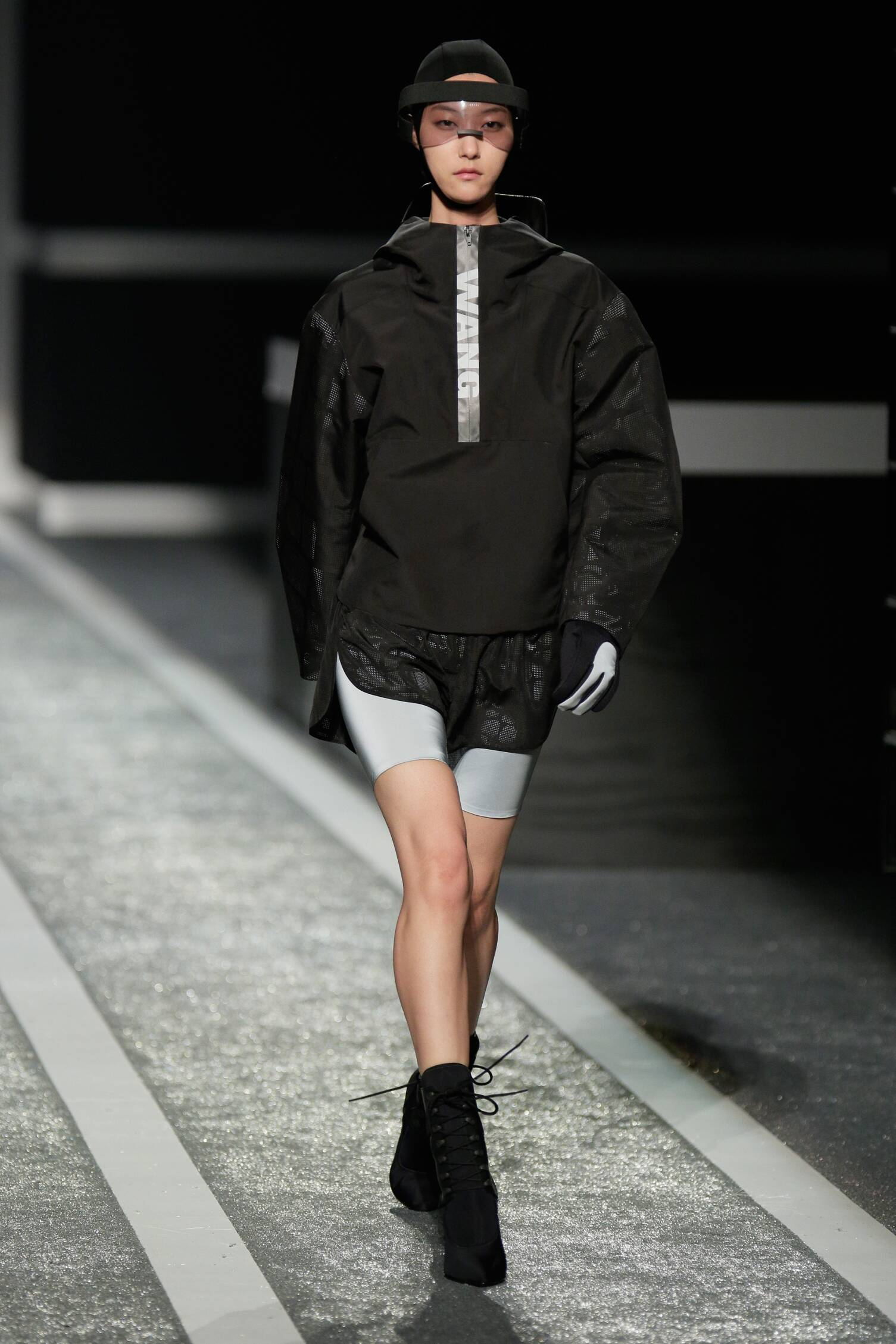 Alexander Wang for H&M Fashion 2015 Runway Model