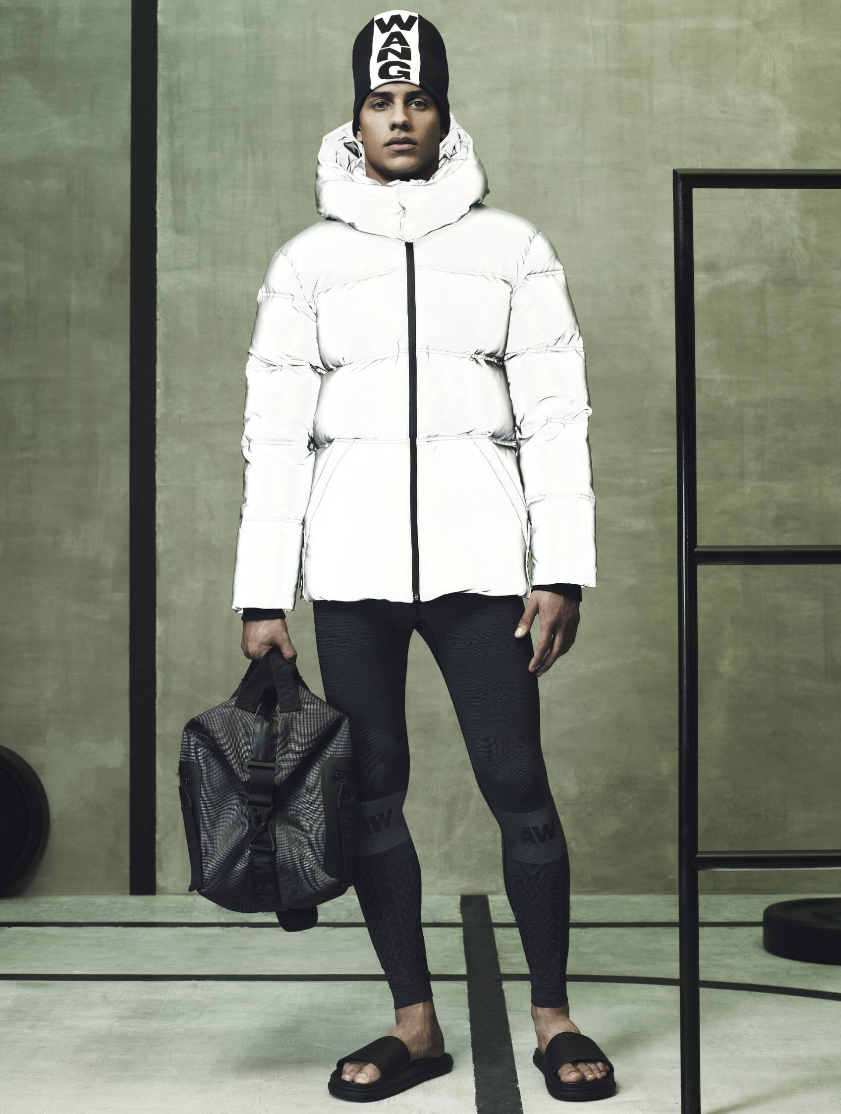 Alexander Wang for H&M Man Lookbook
