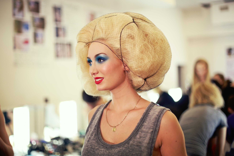 Backstage Jean Paul Gaultier 2014 Hair Style