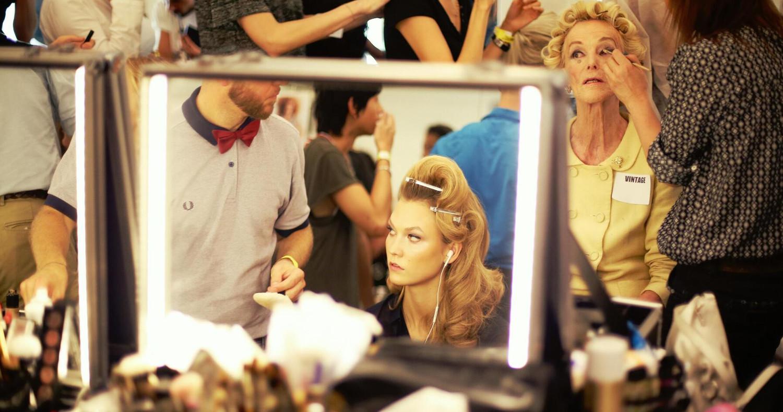 Backstage Jean Paul Gaultier Hair Style