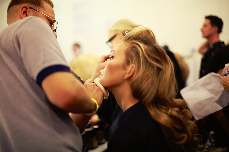 Backstage Jean Paul Gaultier Make Up