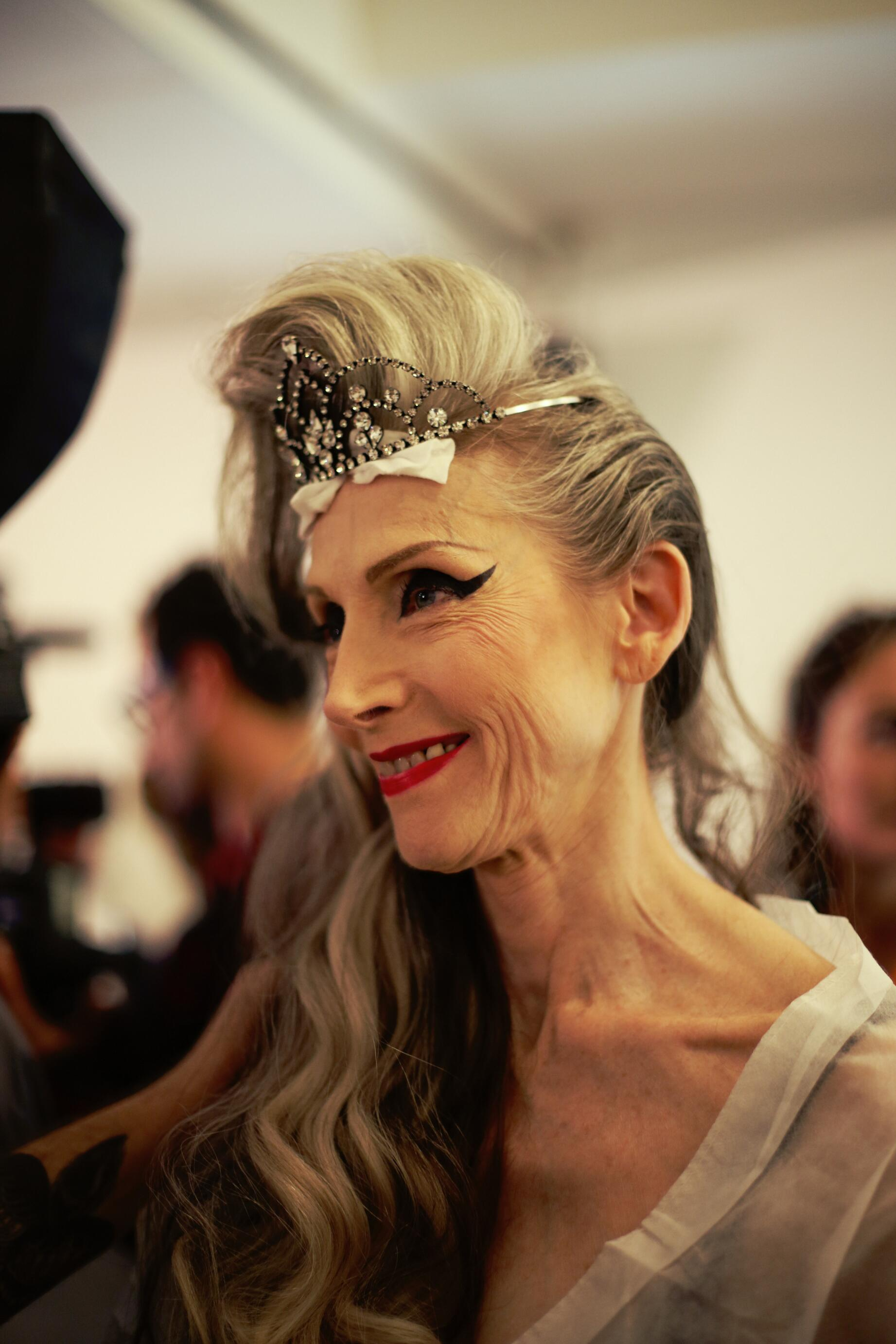 Backstage Jean Paul Gaultier Spring Summer 15 Make Up