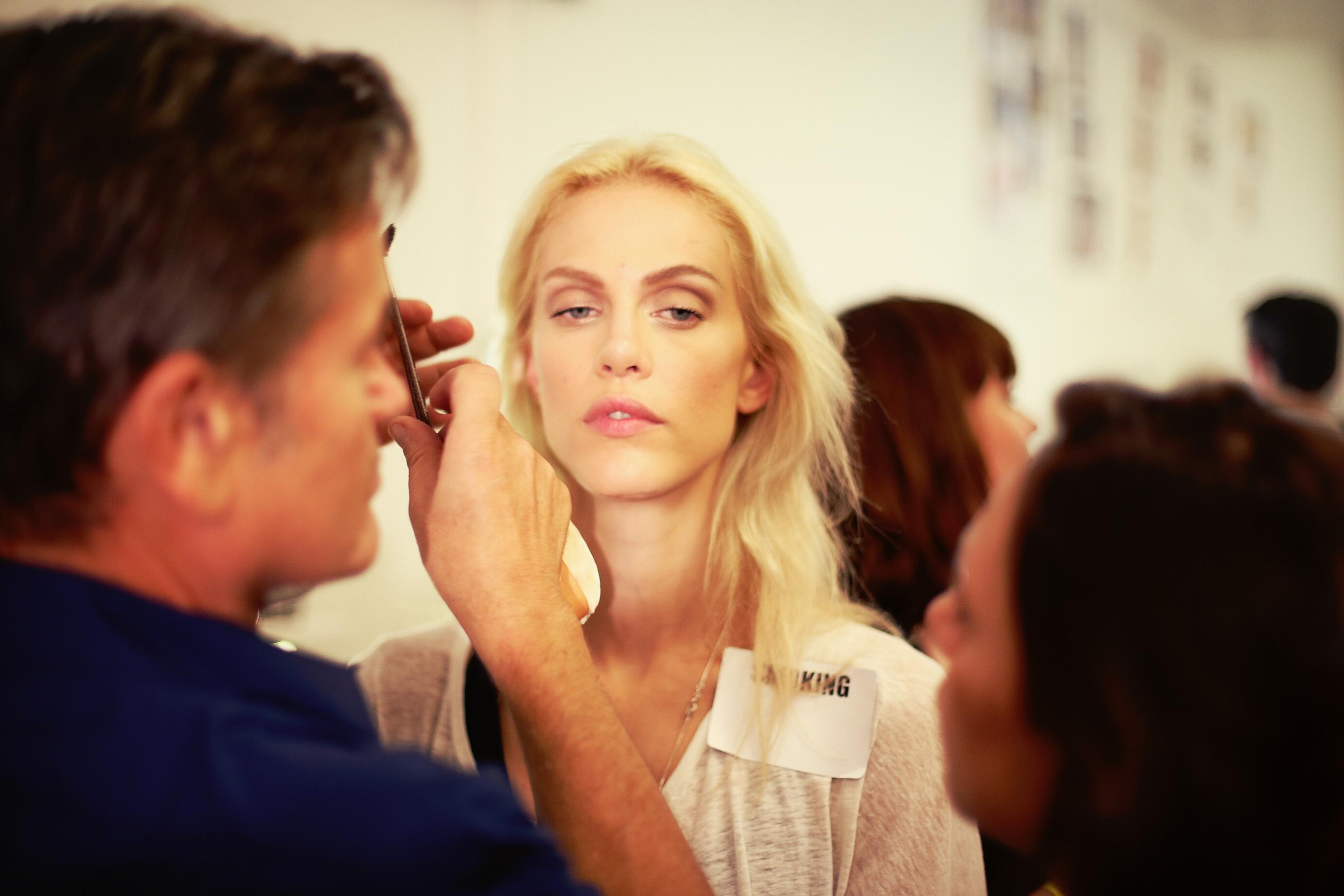 Backstage Jean Paul Gaultier Woman 2014 Make Up