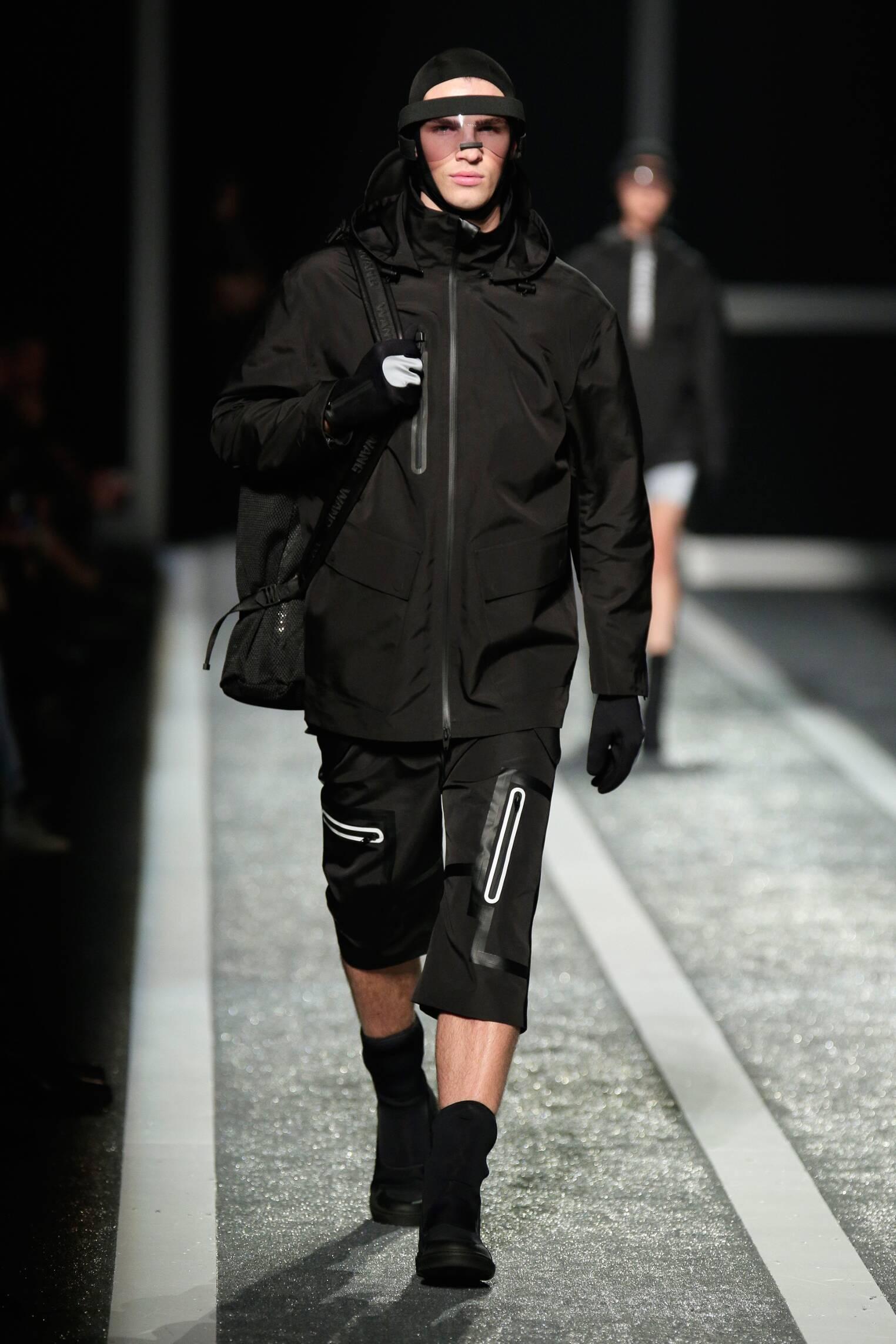 Catwalk Alexander Wang for H&M Menswear