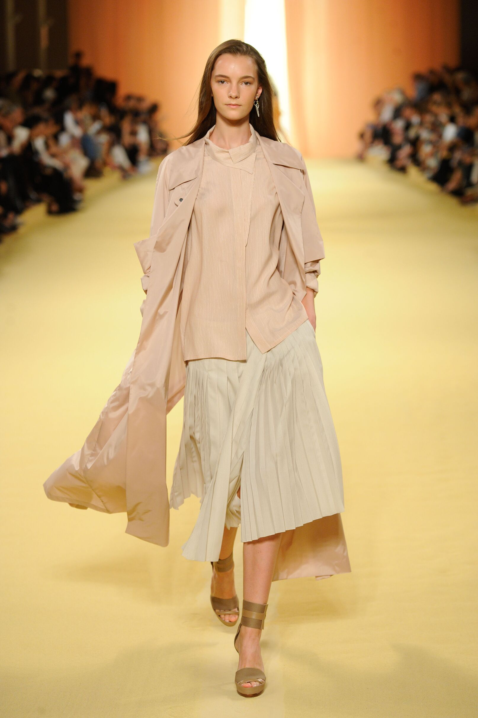 Catwalk Hermès Woman Fashion Show Summer 2015