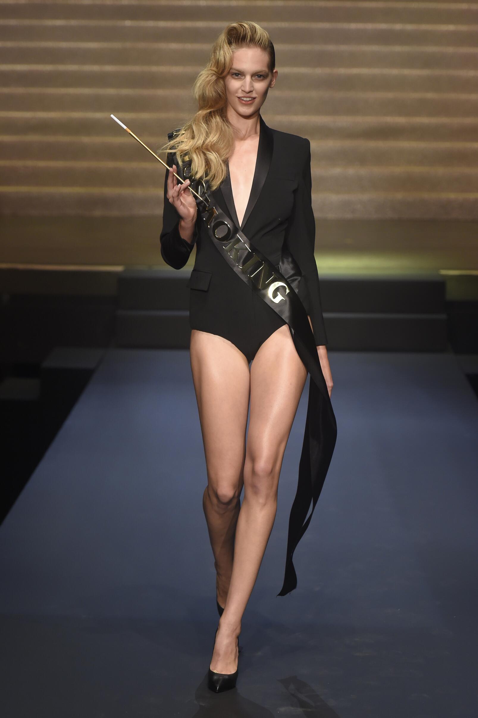 Catwalk Jean Paul Gaultier Paris
