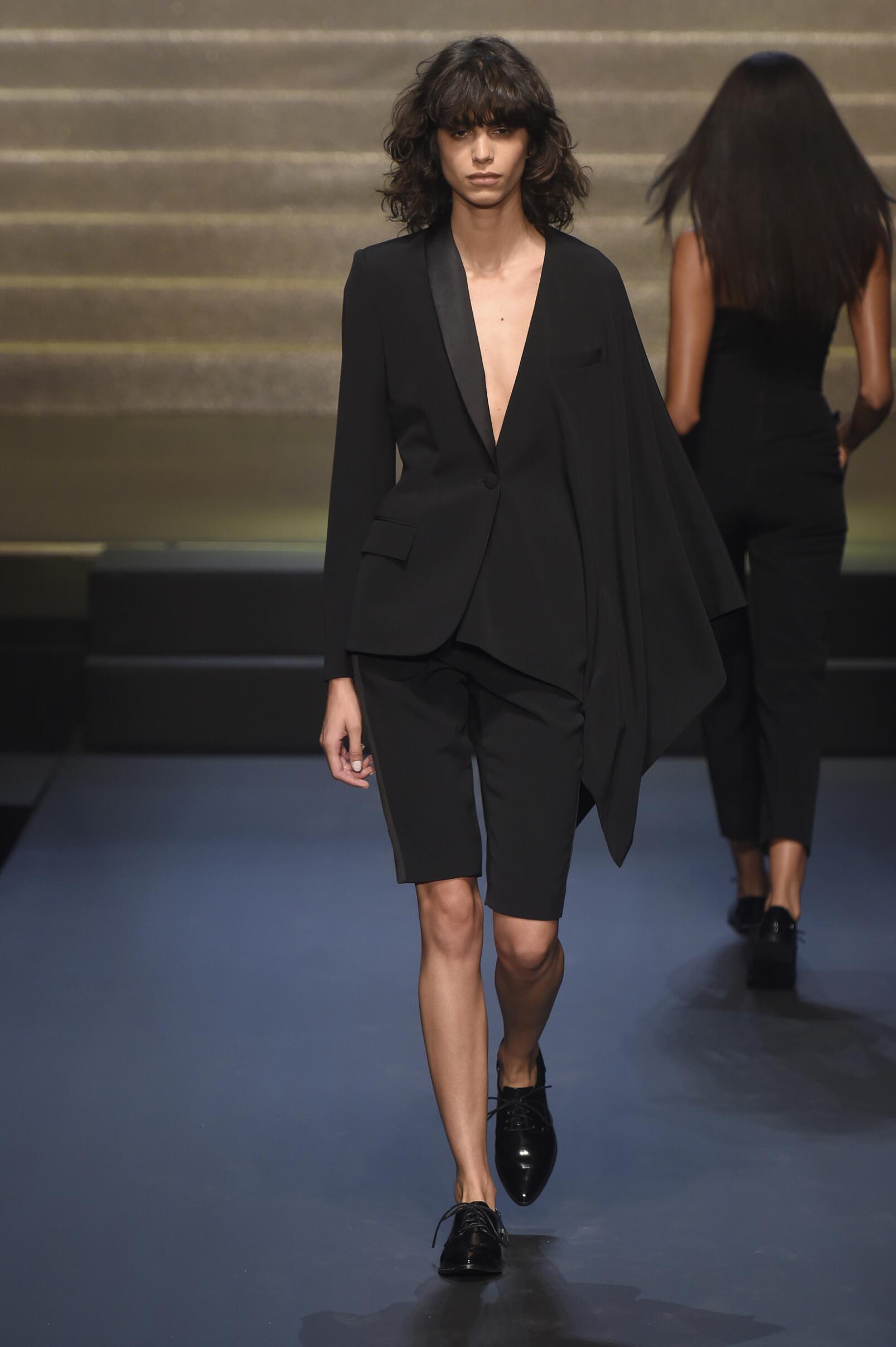 Catwalk Jean Paul Gaultier Woman Fashion Show Summer 2015 Paris