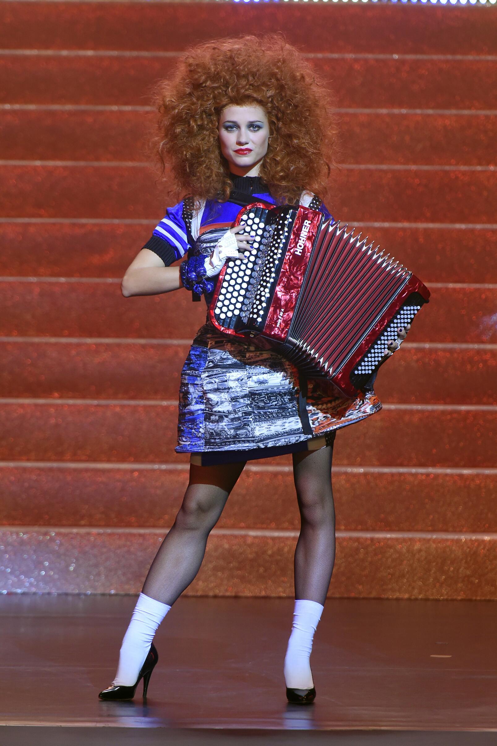 Catwalk Jean Paul Gaultier Woman Fashion Show Summer 2015