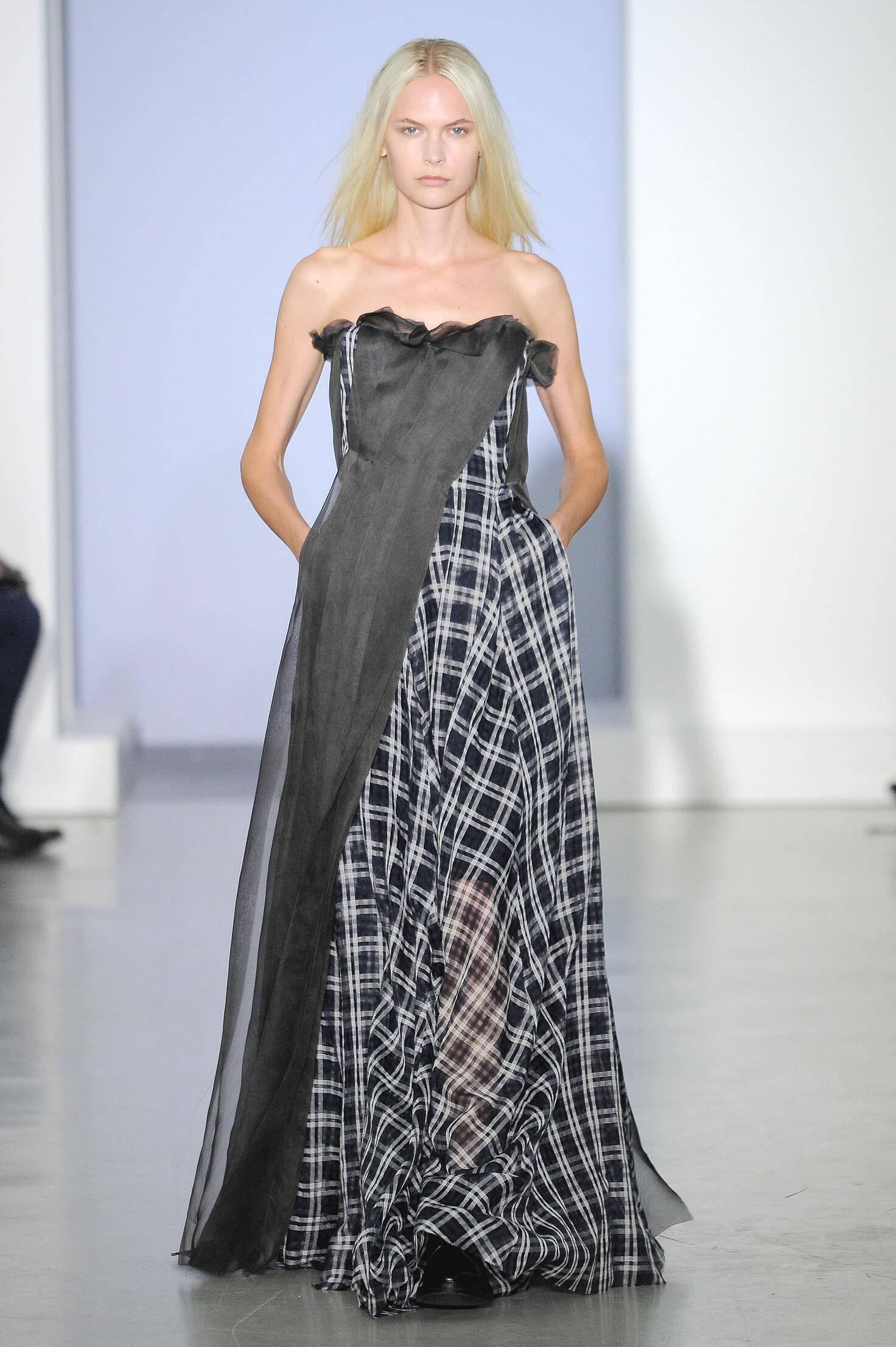 Catwalk Yang Li Woman Fashion Show Summer 2015
